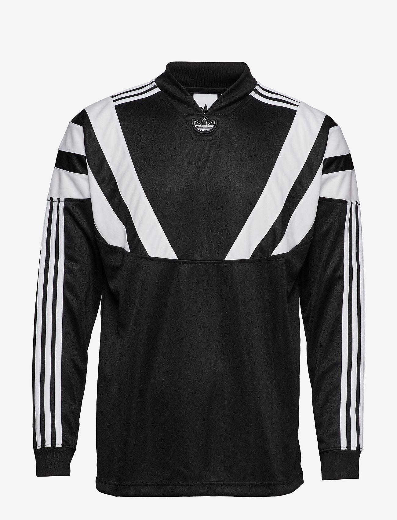 adidas Originals - BLNT 96 LS JSY - football shirts - black - 1