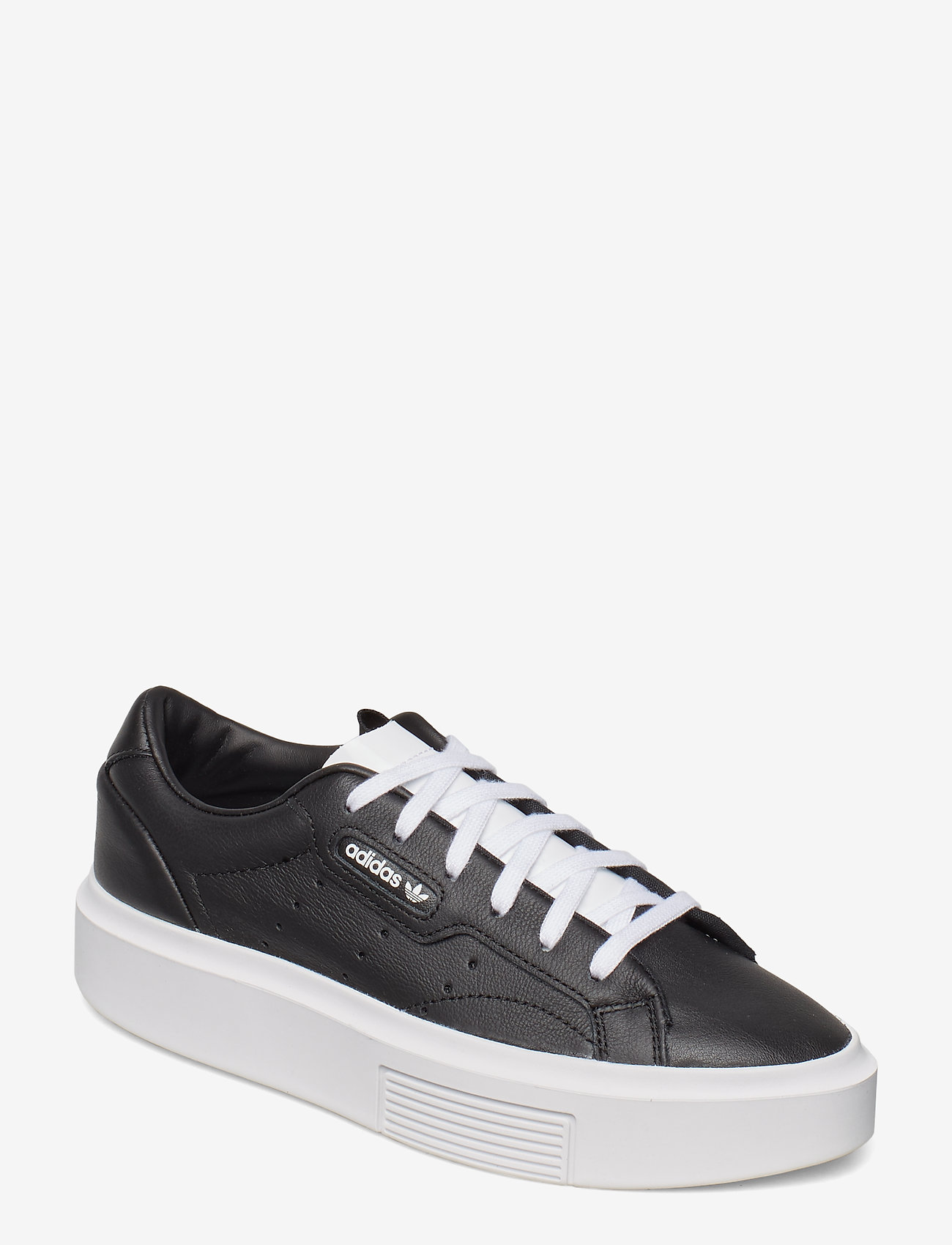 adidas Originals adidas SLEEK SUPER W - Sneaker CBLACK/CBLACK/FTWWHT - Schuhe Billige