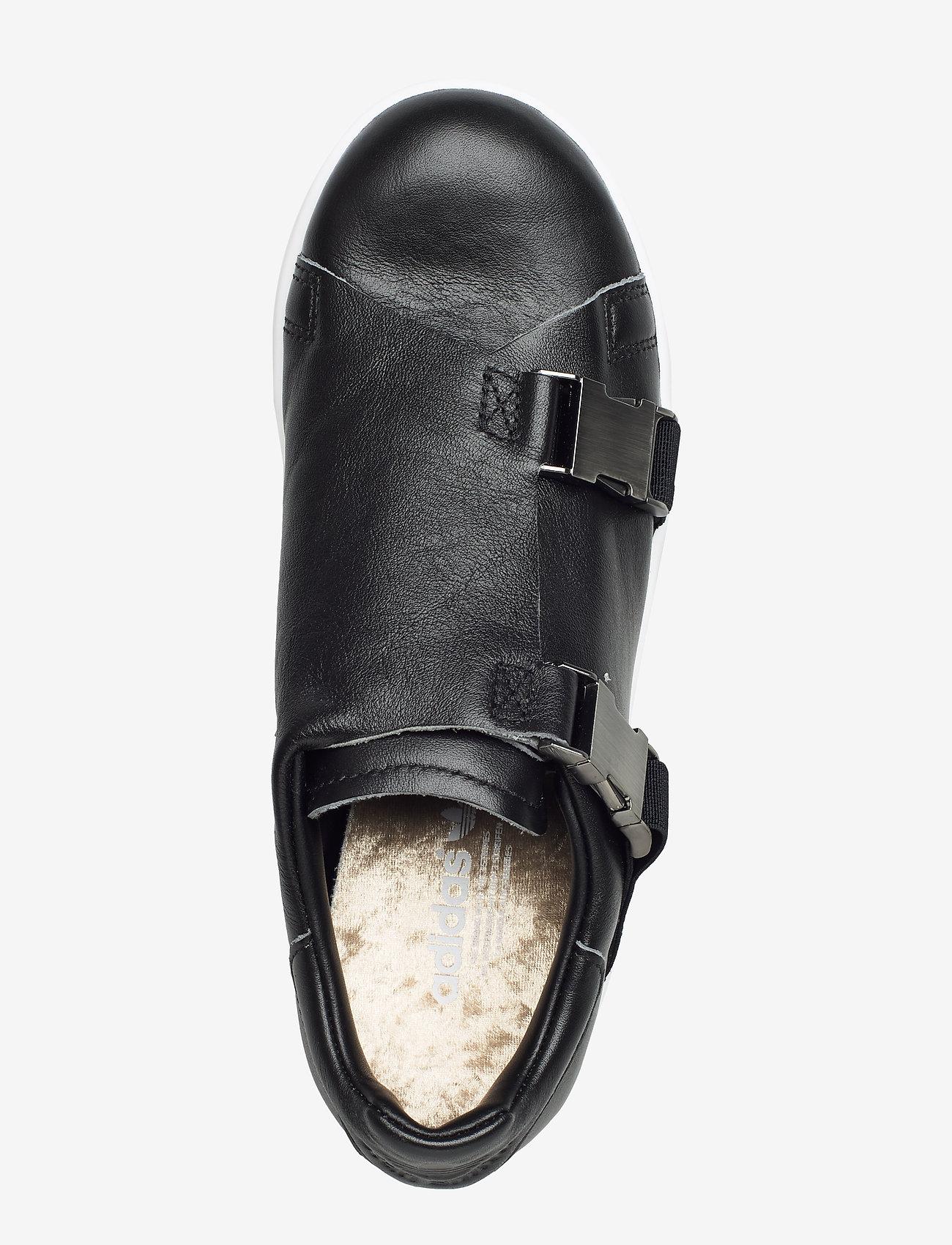 Adidas Originals Stan Smith Bckl W - Sneakers Cblack/goldmt/ftwwht