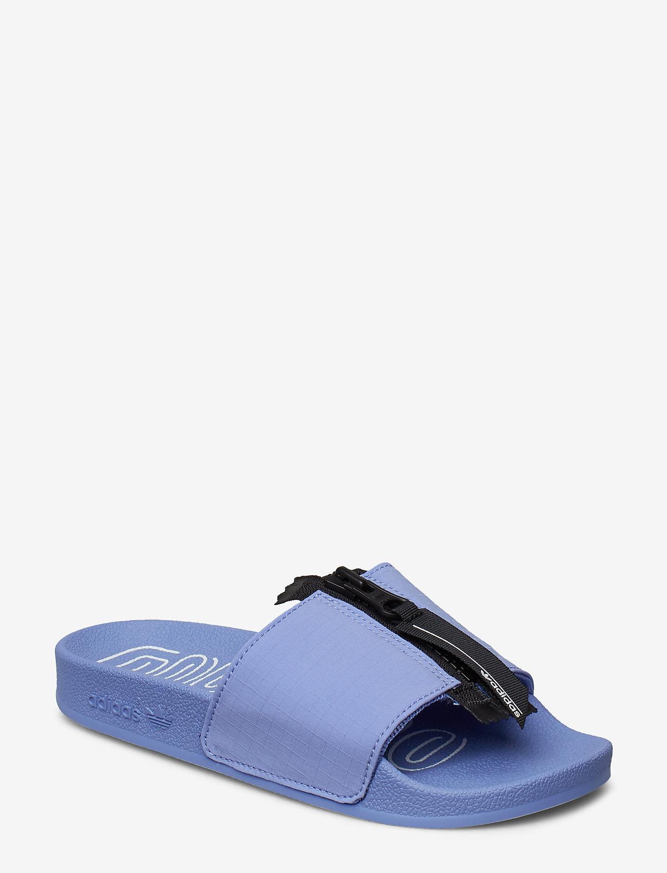 adidas Originals - ADILETTE ZIP W - sneakers - chapur/cblack/ftwwht - 0