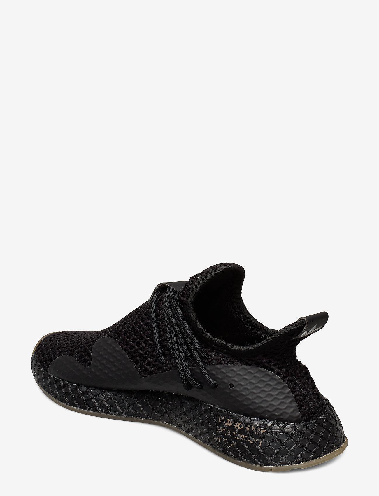 Adidas Originals Deerupt S - Sneakers Cblack/cblack/gum3