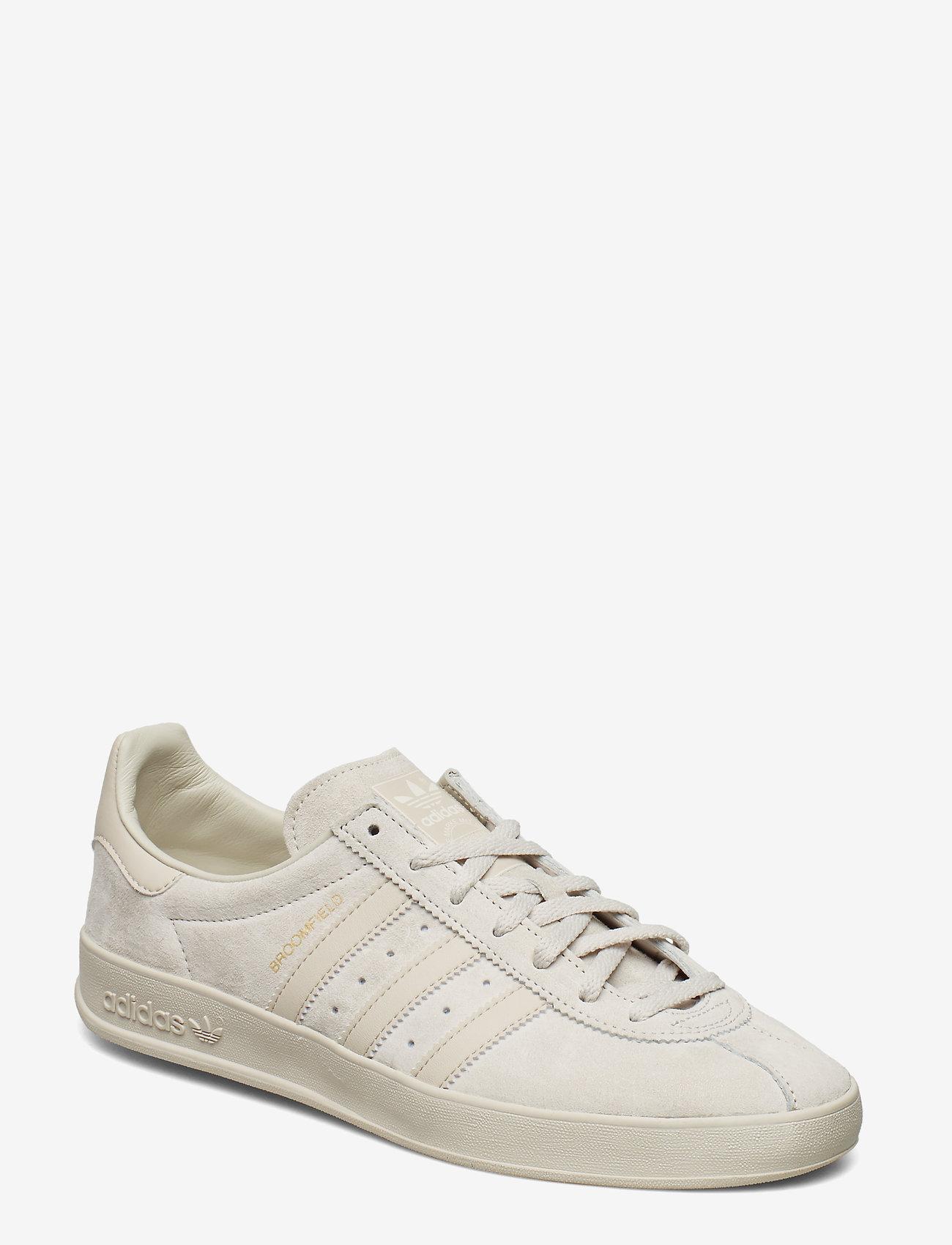 adidas Originals - BROOMFIELD - lav ankel - rawwht/cbrown/goldmt - 0