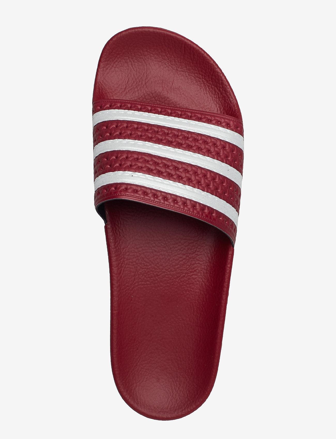 Adilette (Cburgu/ftwwht/cburgu) - adidas Originals