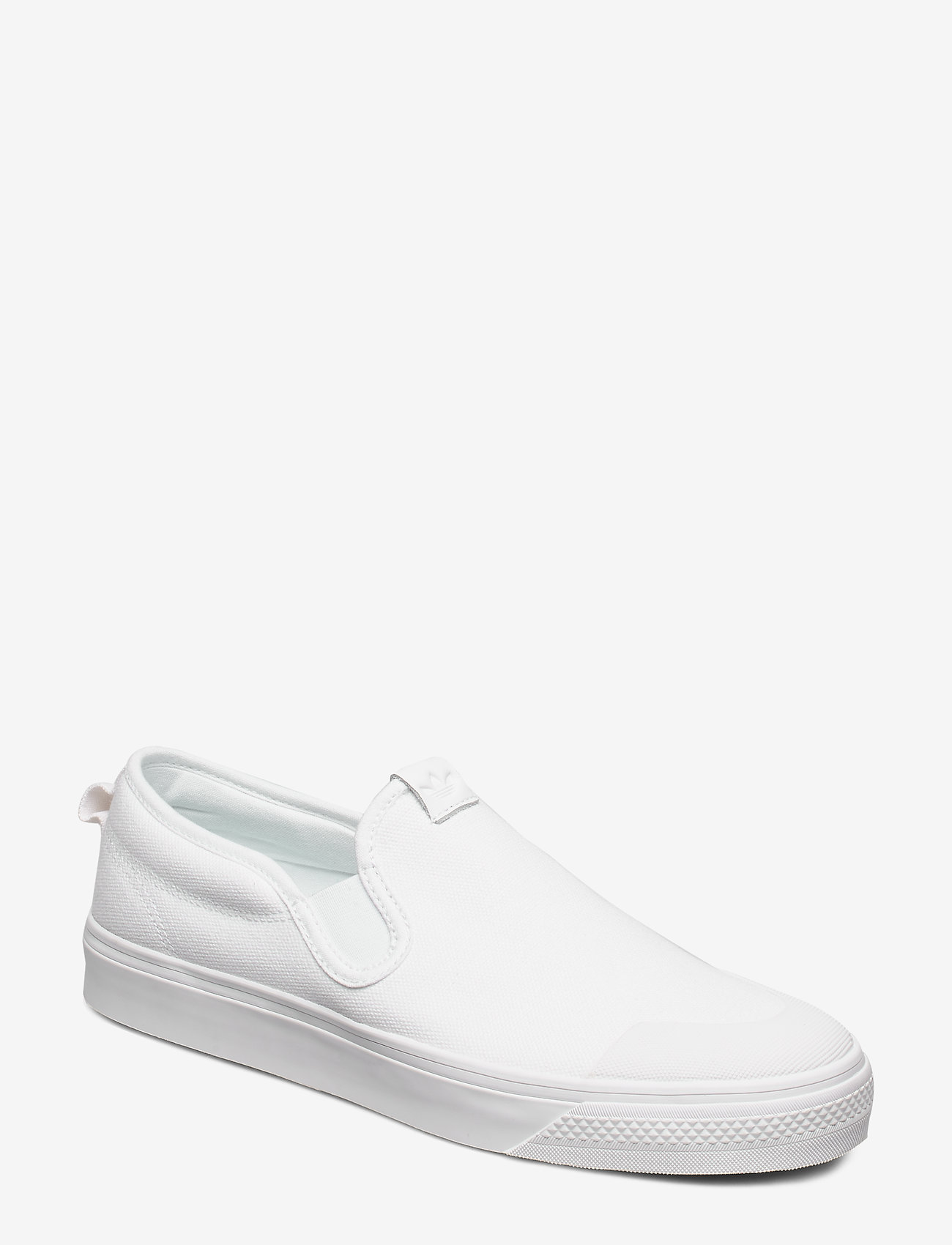 adidas Originals - NIZZA SLIP ON - baskets slip-ons - ftwwht/ftwwht/ftwwht - 0