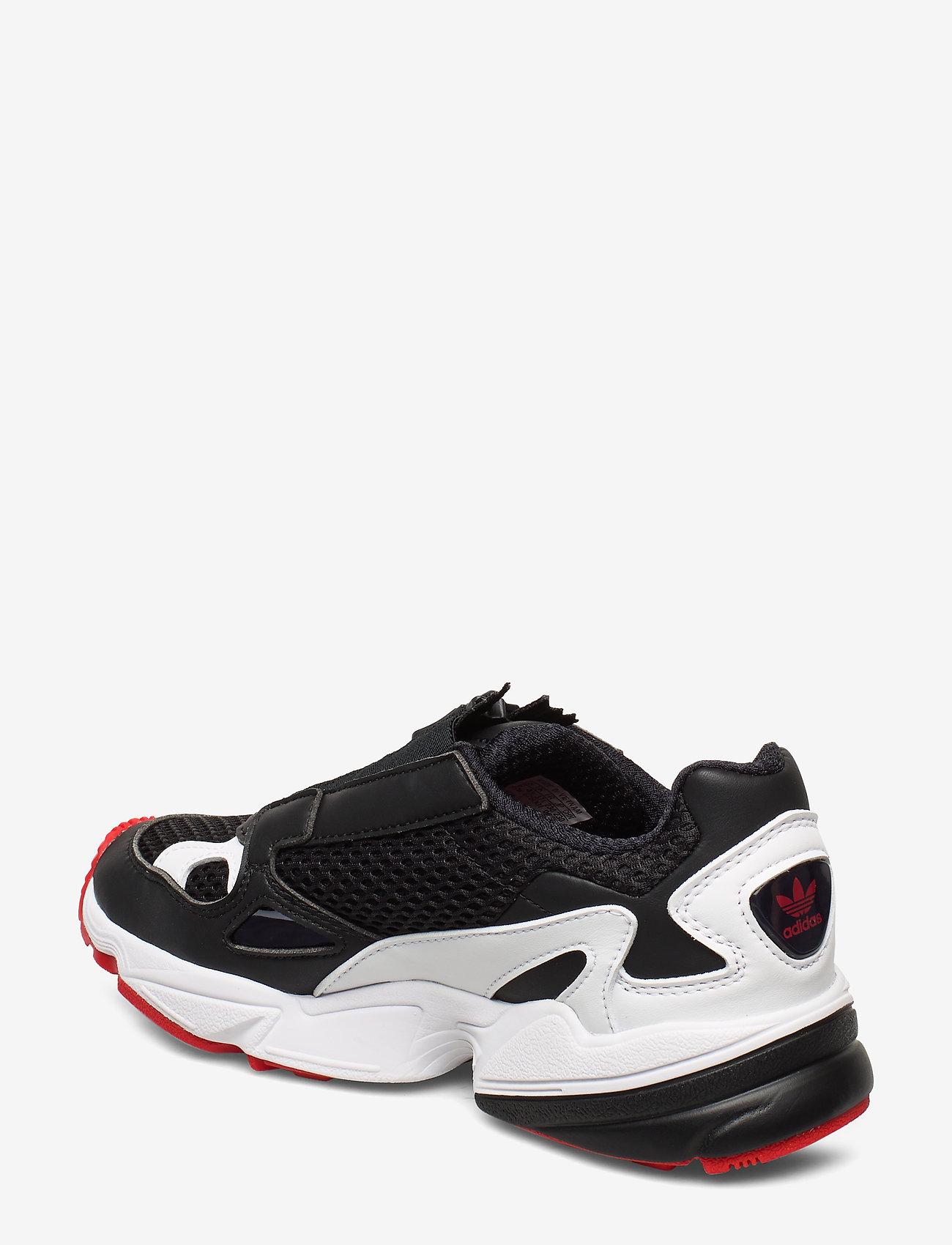 Falcon Zip W (Cblack/ftwwht/red) - adidas Originals