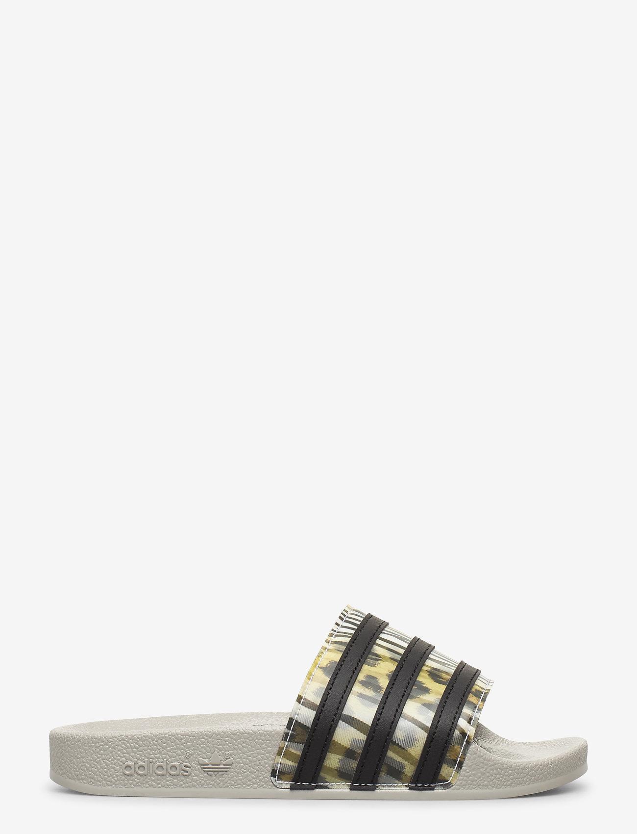 adidas Originals - ADILETTE W - sneakers - cblack/cblack/metgry - 1