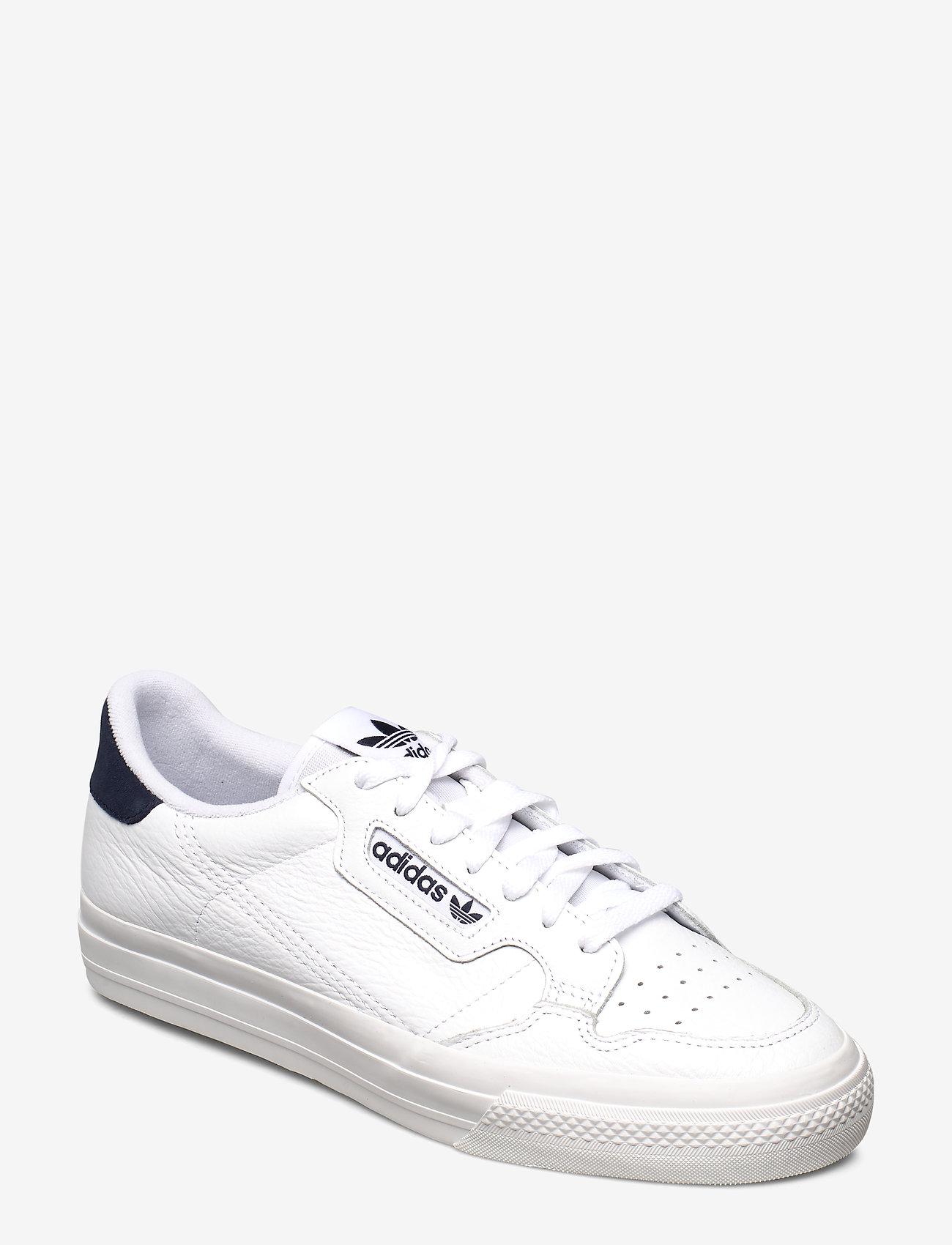 adidas Originals - CONTINENTAL VULC - lave sneakers - ftwwht/ftwwht/conavy - 0