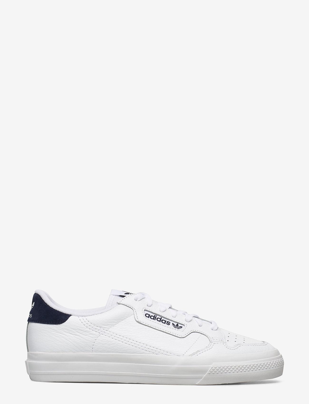 adidas Originals - CONTINENTAL VULC - lave sneakers - ftwwht/ftwwht/conavy - 1