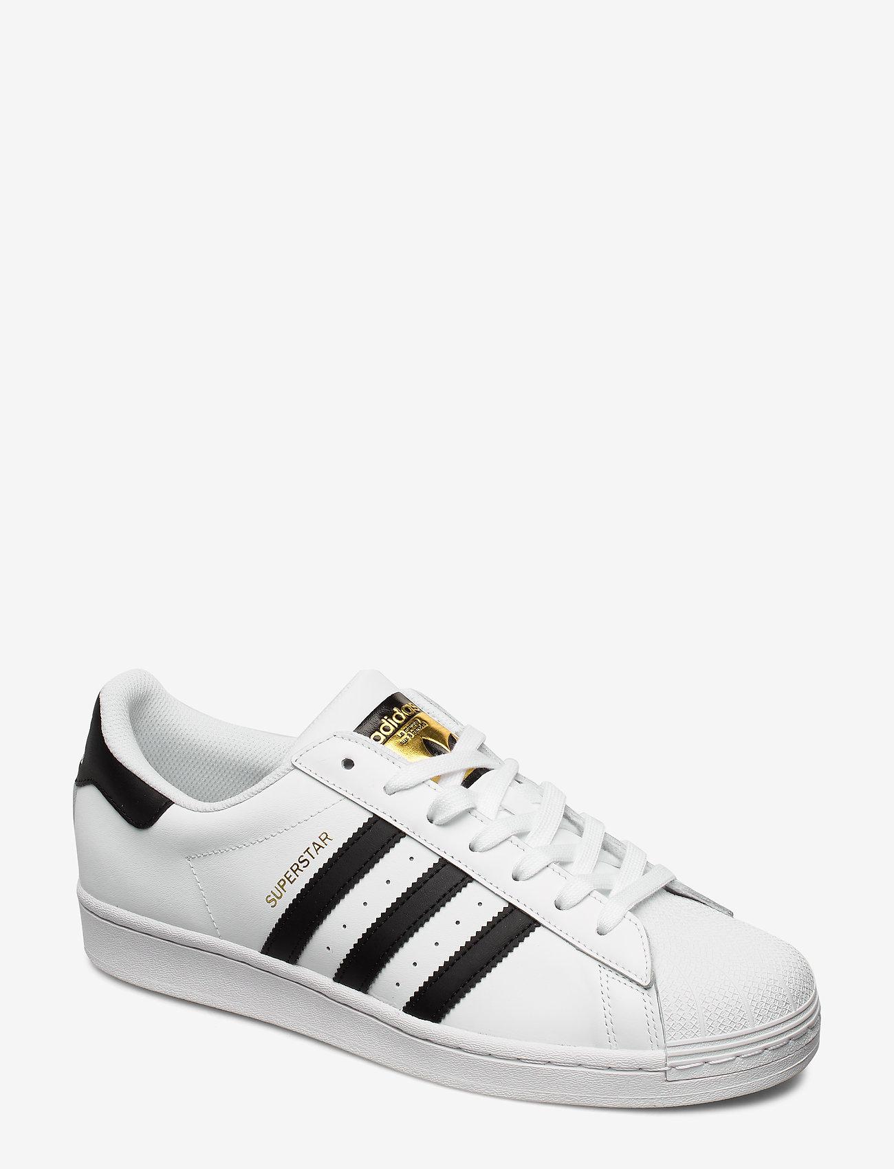 adidas Originals - SUPERSTAR - lav ankel - ftwwht/cblack/ftwwht - 0