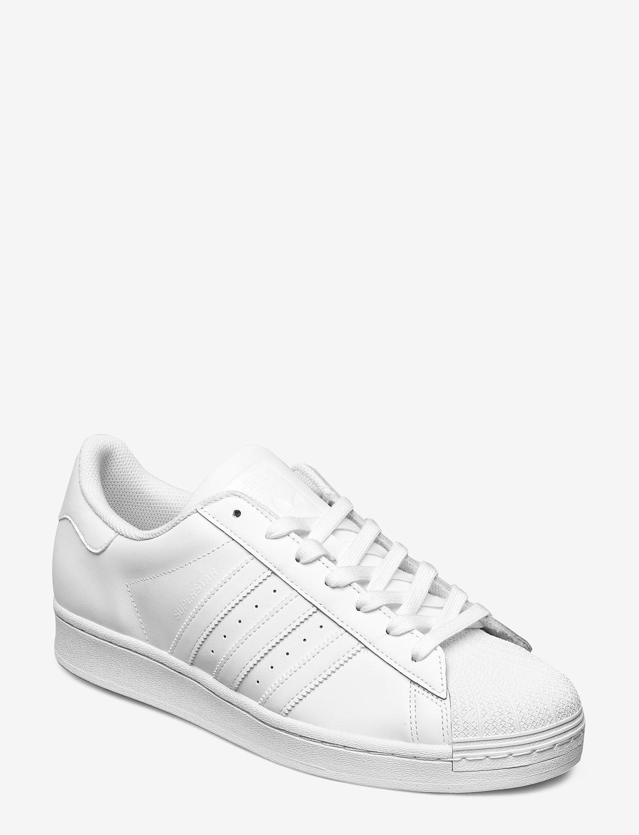 adidas Originals - Superstar - lav ankel - ftwwht/ftwwht/ftwwht - 0