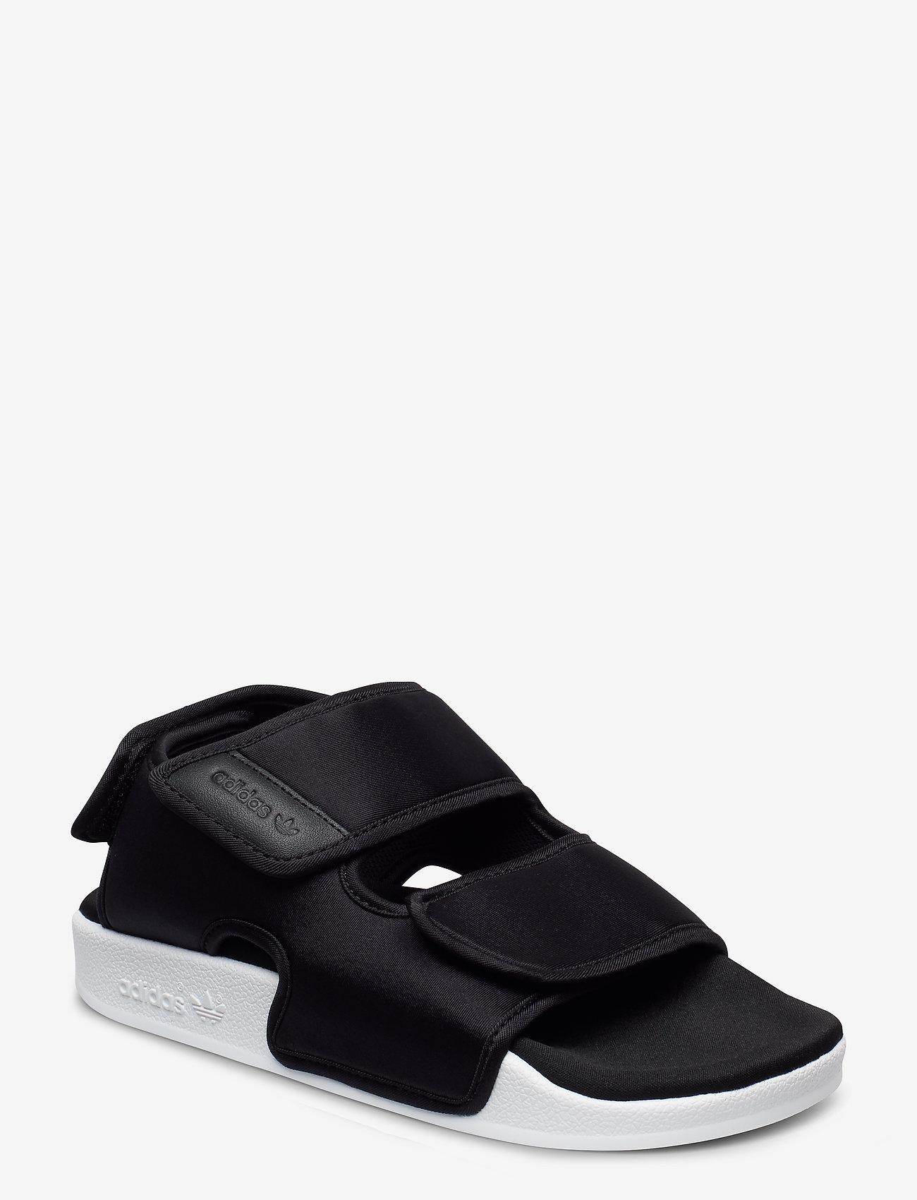 adidas Originals - ADILETTE SANDAL 3.0 - płaskie sandały - cblack/cblack/ftwwht - 0