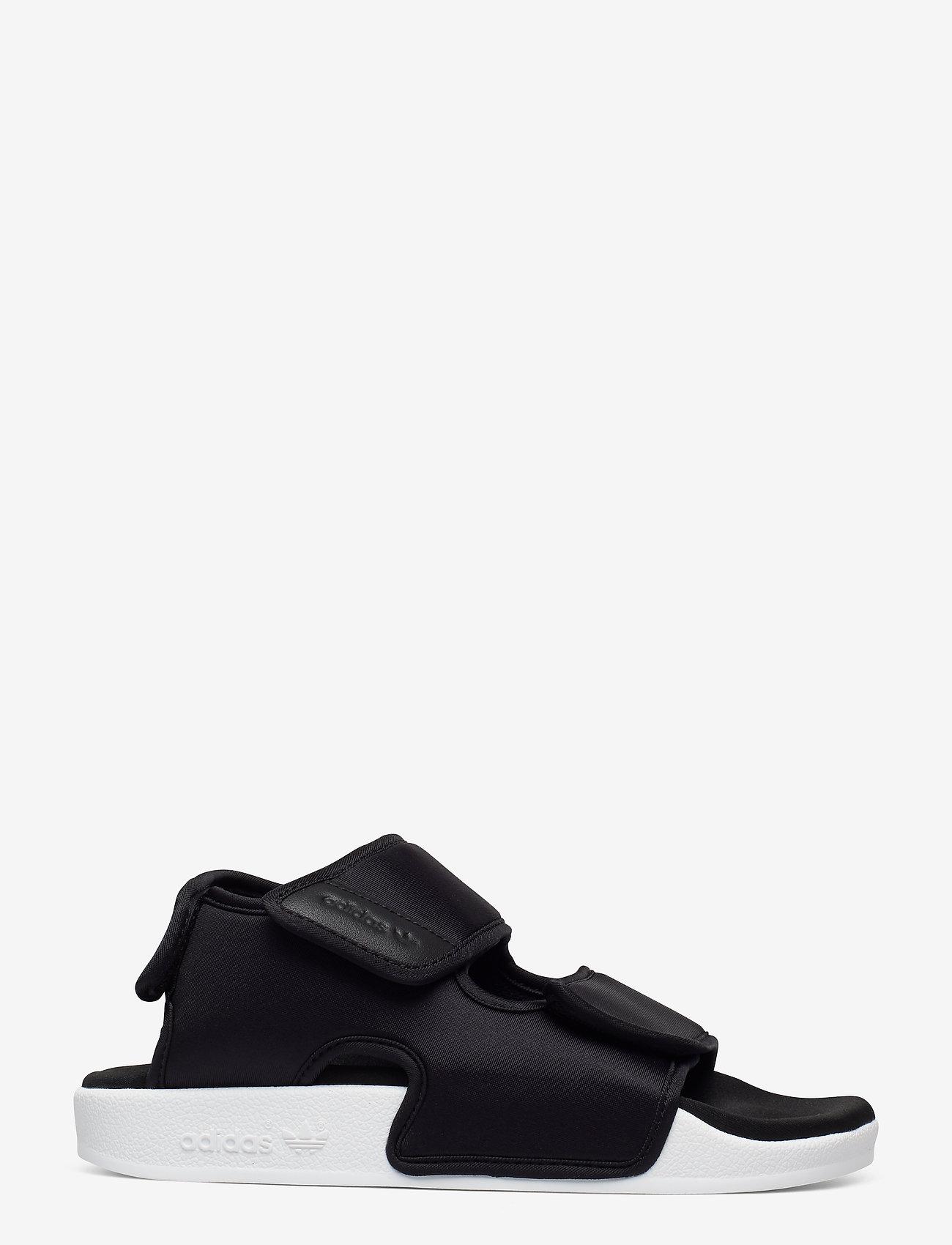 adidas Originals - ADILETTE SANDAL 3.0 - płaskie sandały - cblack/cblack/ftwwht - 1