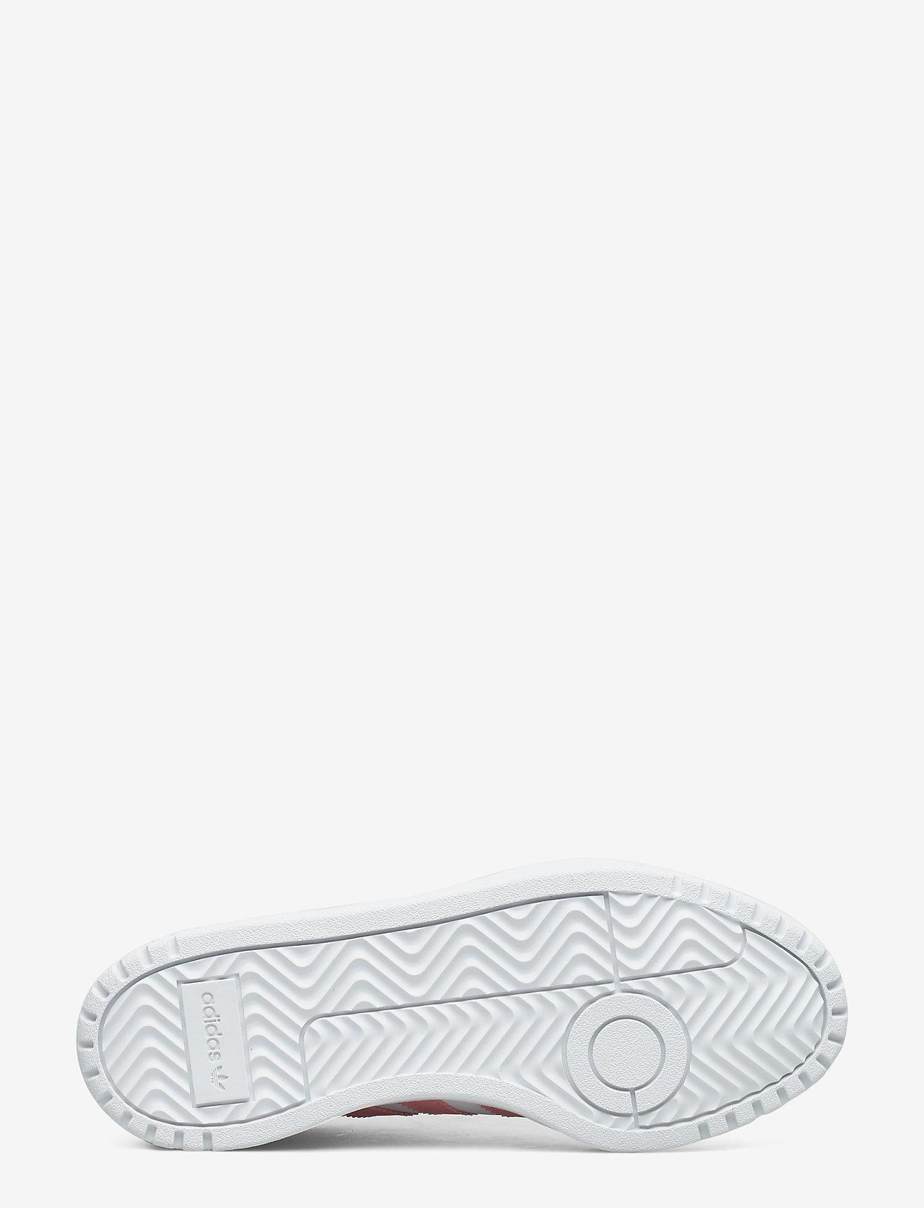 Adidas Originals Team Court J - Sneakers Ftwwht/glopnk/cblack