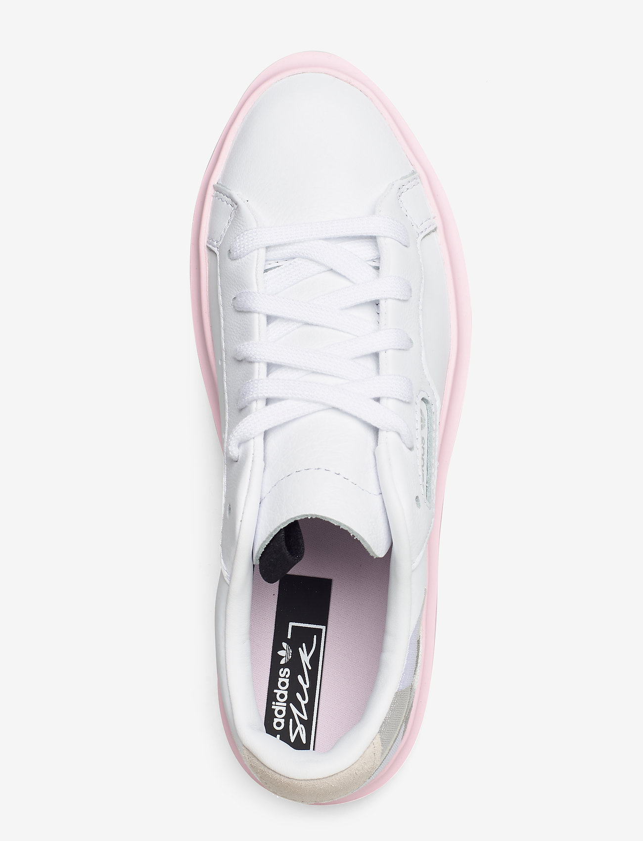 Adidas Originals Sleek Super W - Sneakers Ftwwht/gretwo/clpink