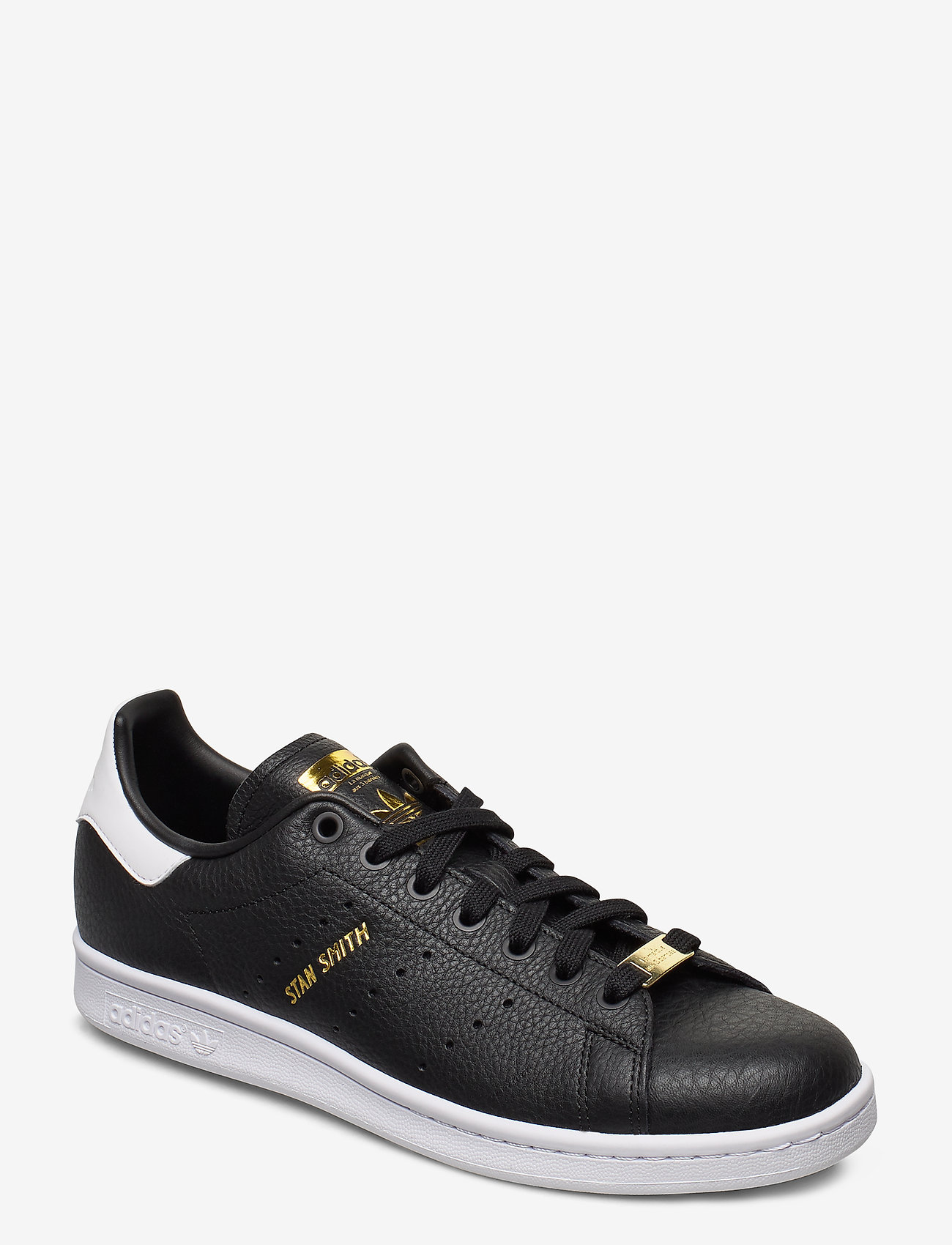 adidas Originals - STAN SMITH - lav ankel - cblack/cblack/ftwwht - 0