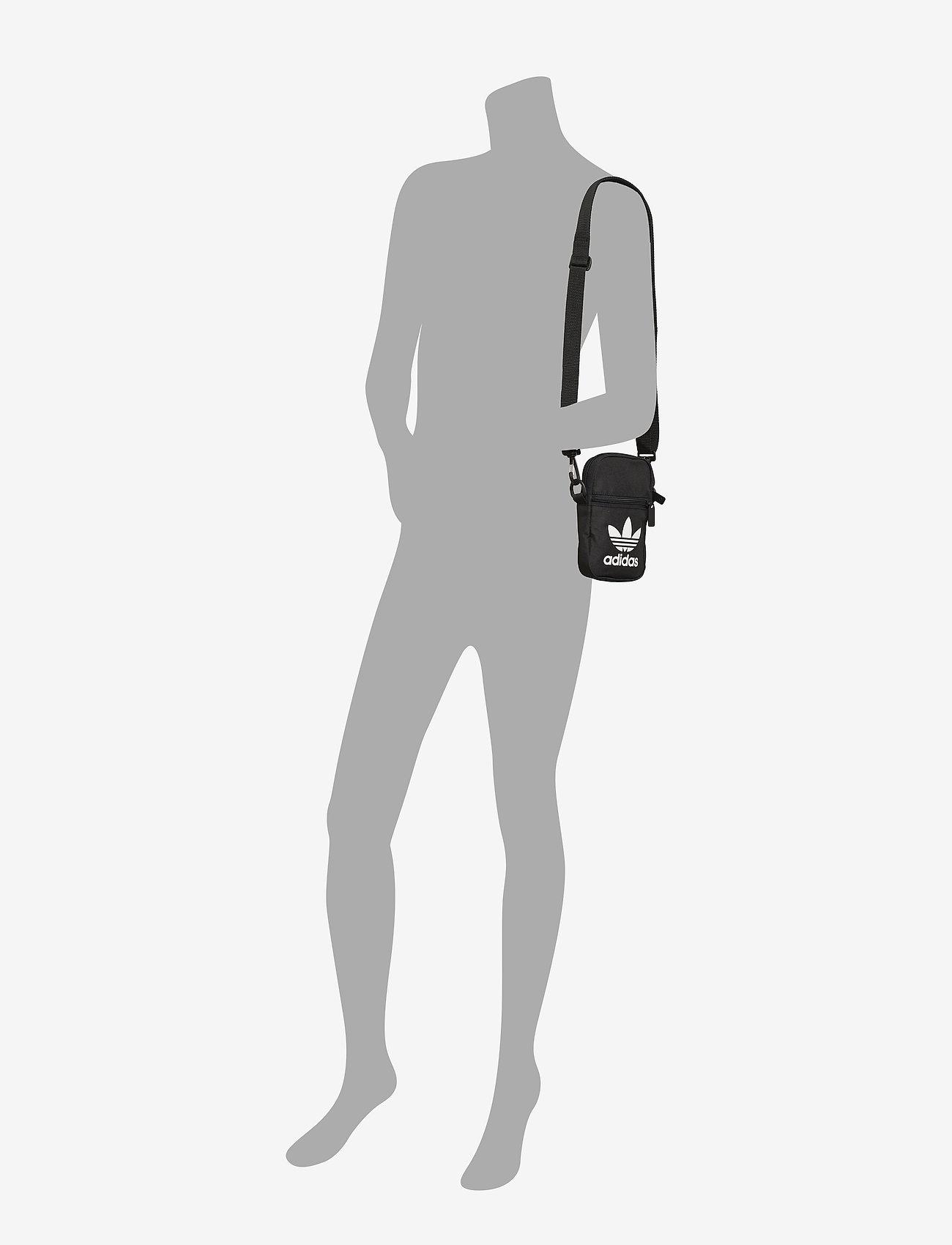 adidas Originals - Trefoil Festival Bag - crossbody bags - black - 4