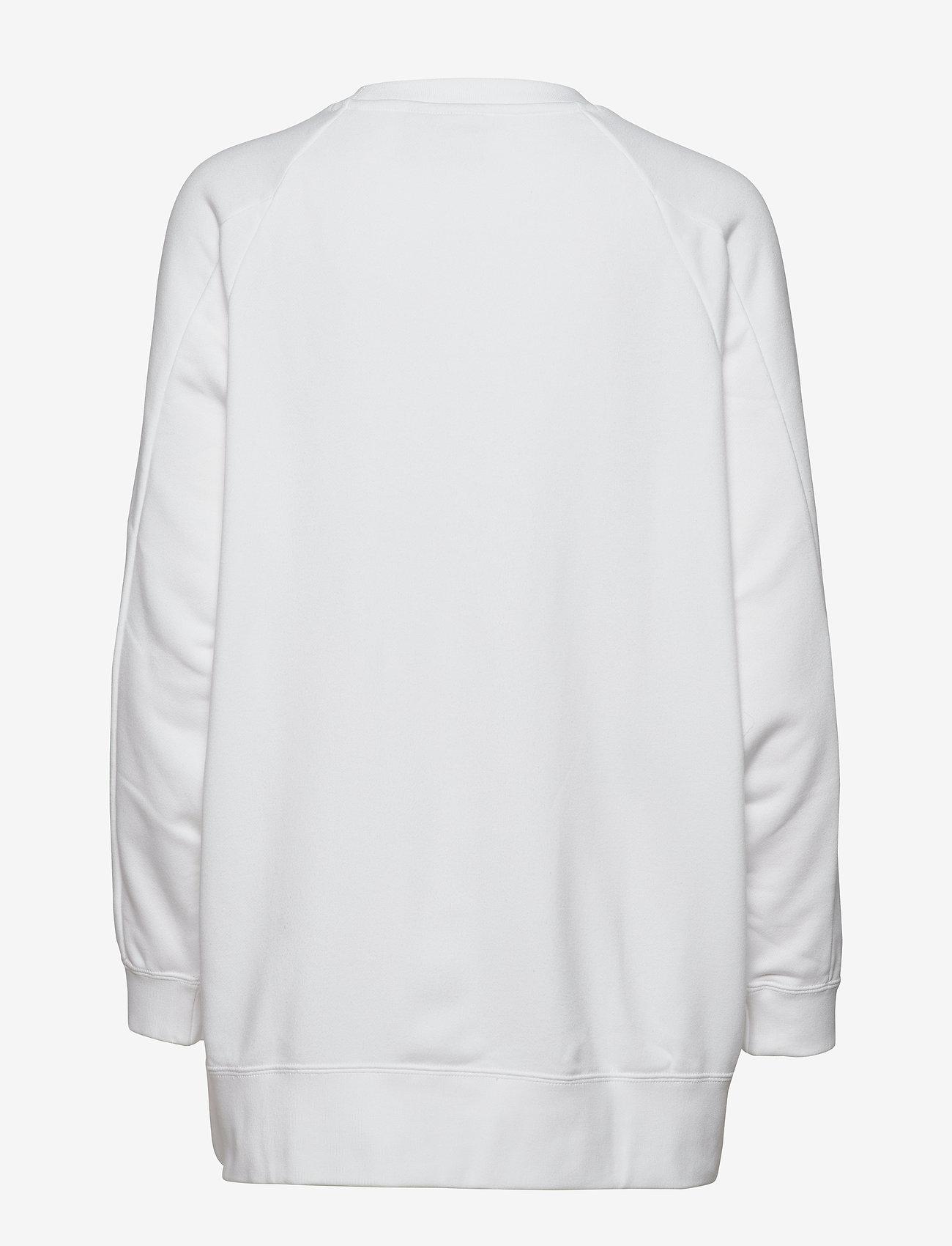 adidas Originals - GRAPHIC SWEATER - svetarit - white - 1