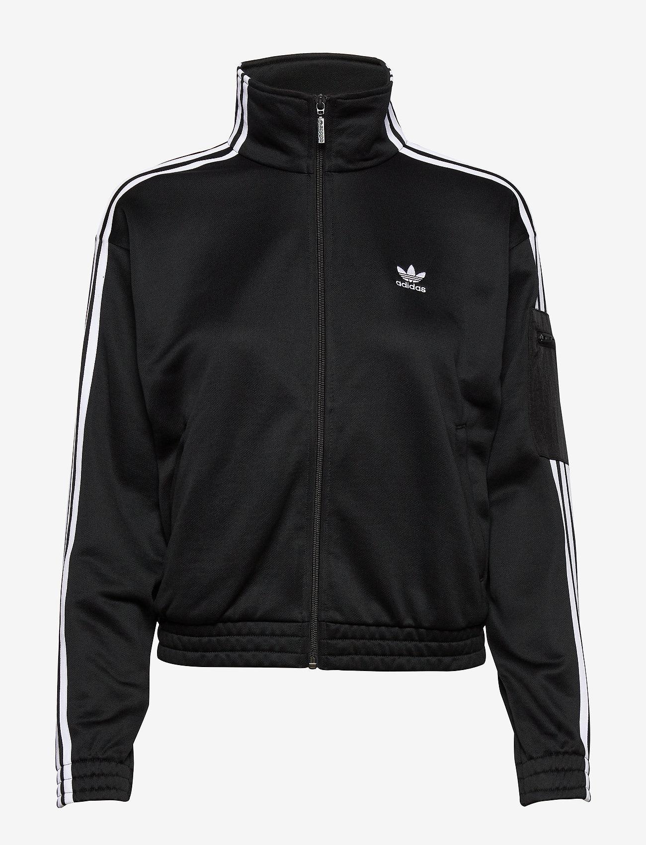 adidas Originals - TRACKTOP - svetarit - black - 0