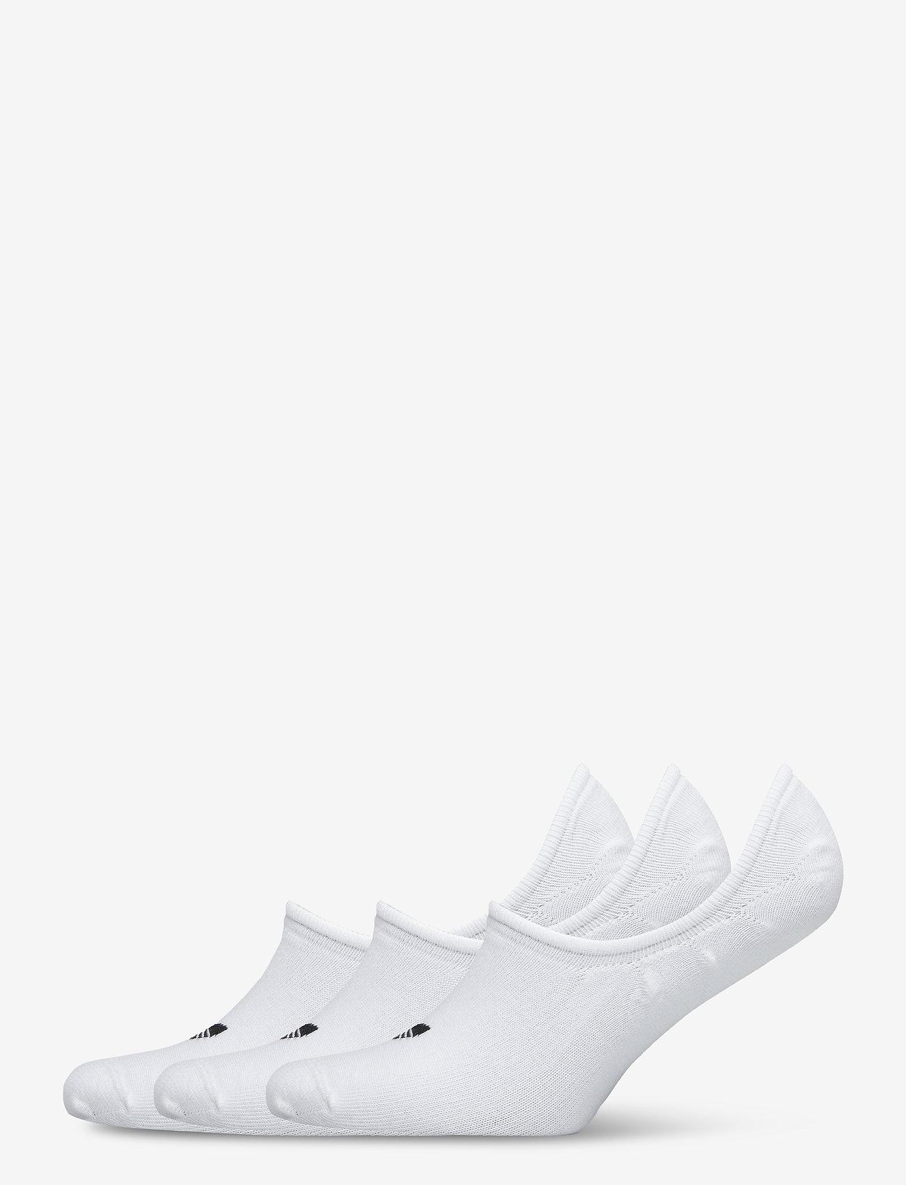 adidas Originals - No-Show Socks 3 Pairs - nilkkasukat - white - 0