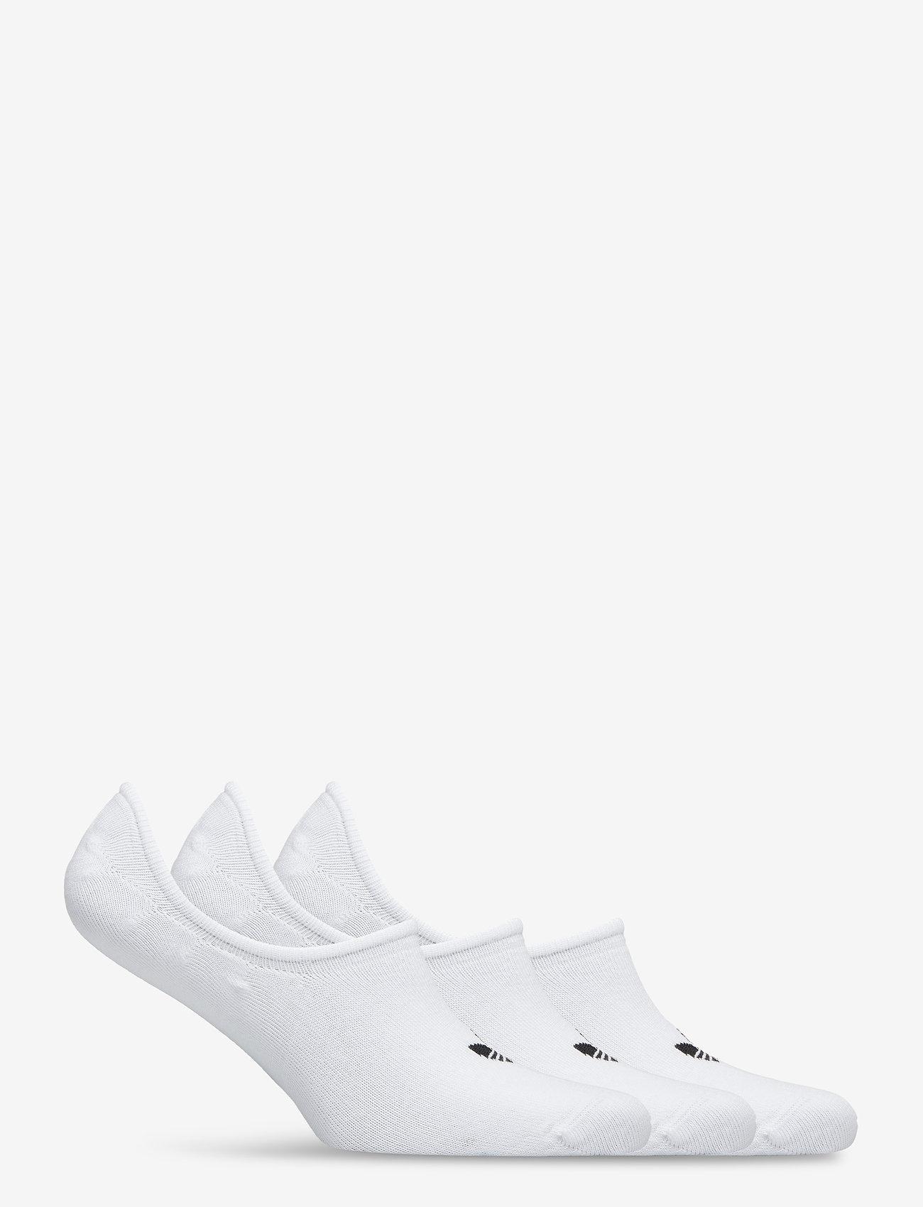 adidas Originals - No-Show Socks 3 Pairs - nilkkasukat - white - 1