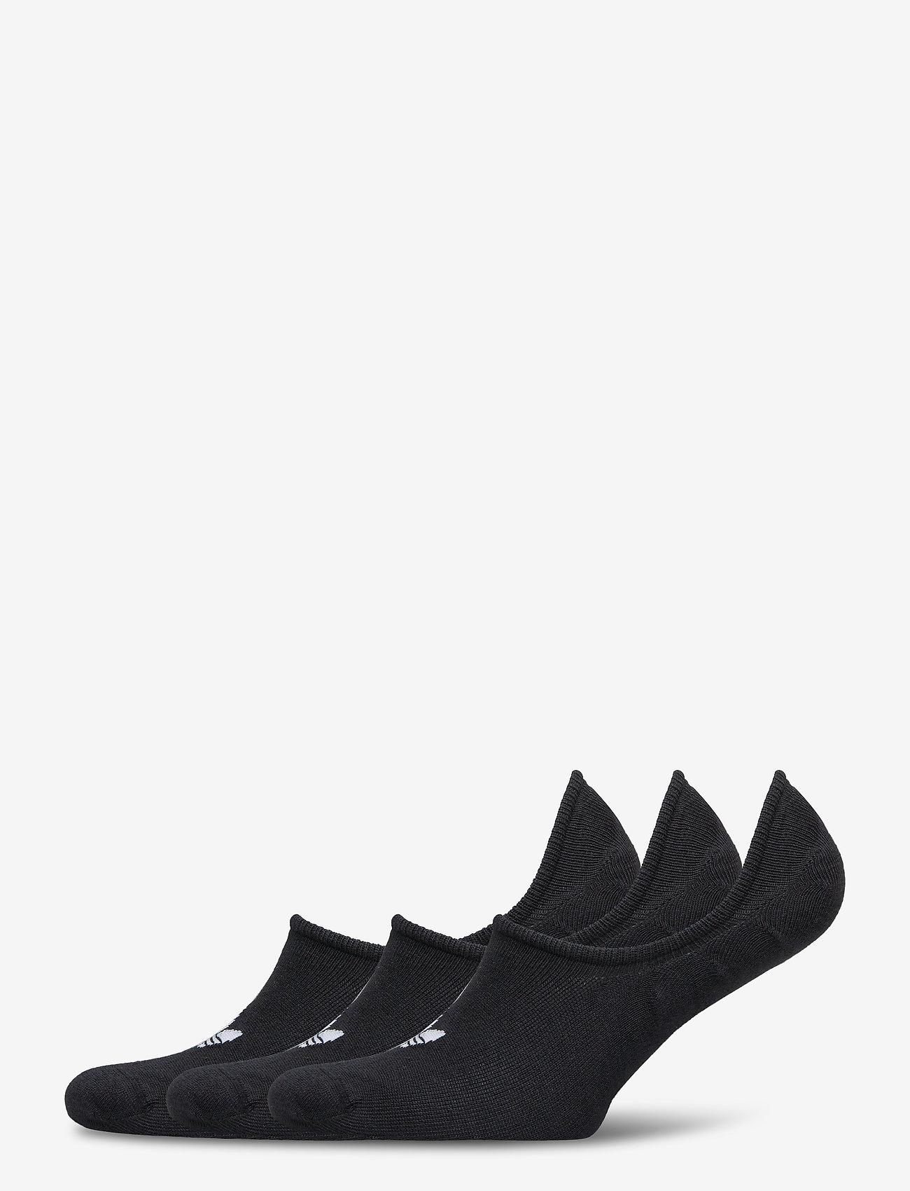adidas Originals - No-Show Socks 3 Pairs - nilkkasukat - black - 0