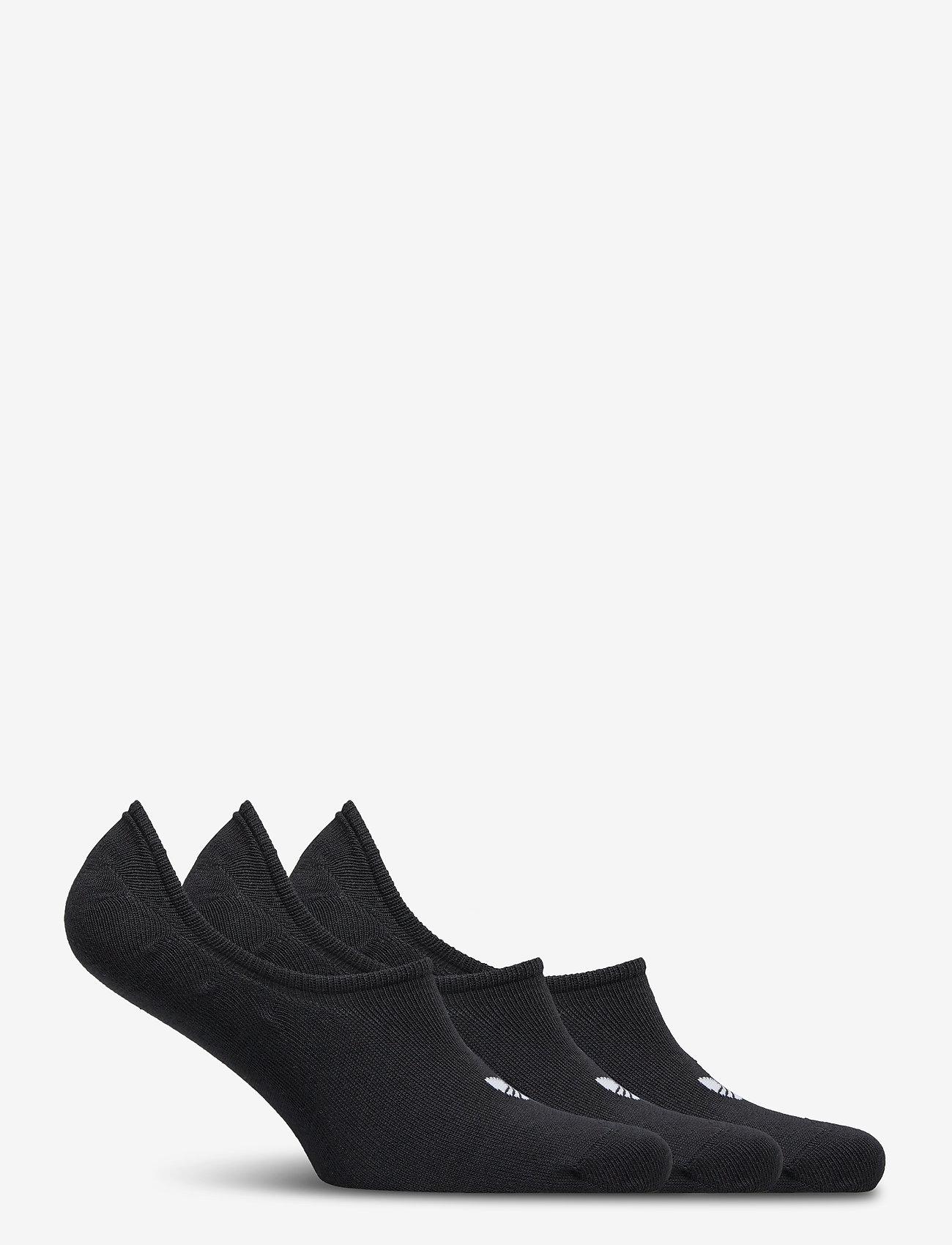 adidas Originals - No-Show Socks 3 Pairs - nilkkasukat - black - 1