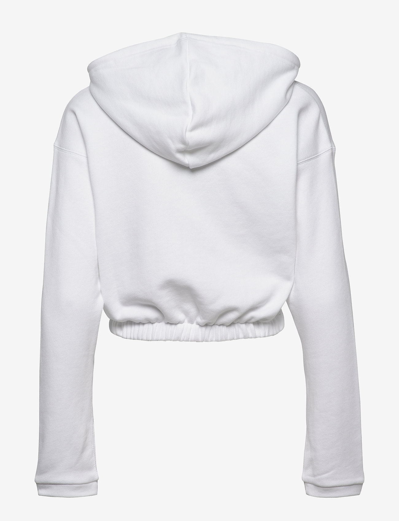 adidas Originals - CROPPED HOODIE - crop tops - white - 1