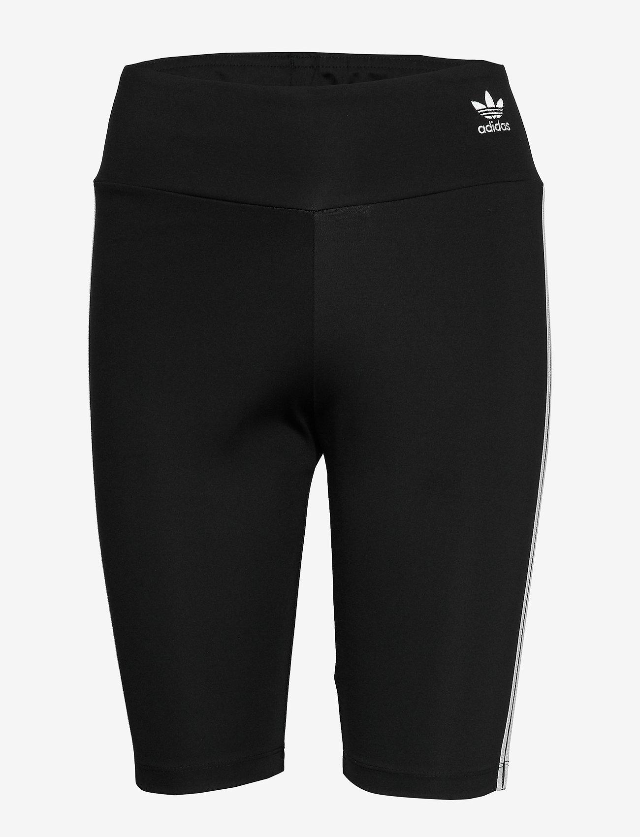 adidas Originals - SHORT TIGHTS - träningsshorts - black/white - 1