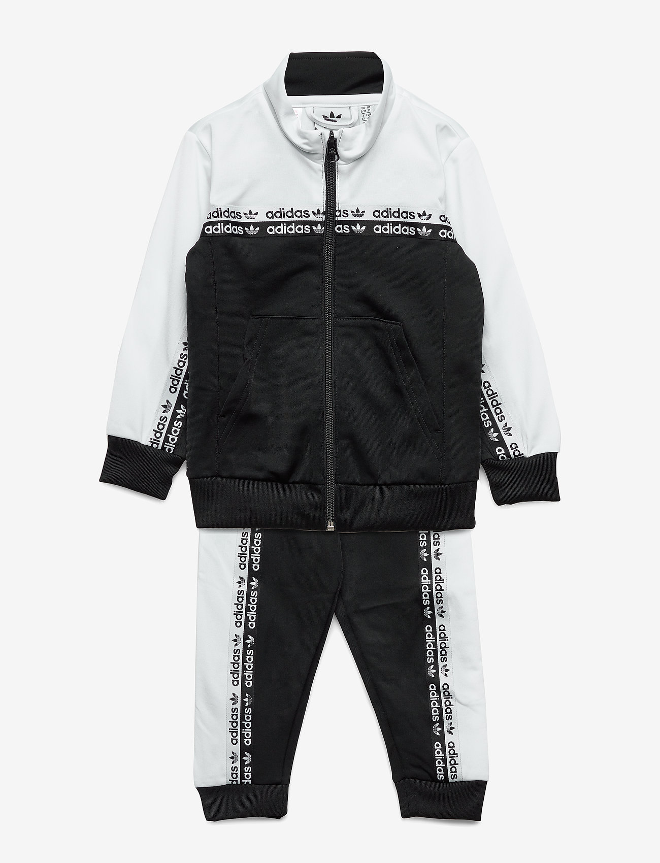 adidas Originals - TRACKSUIT - dresy - black/white - 0