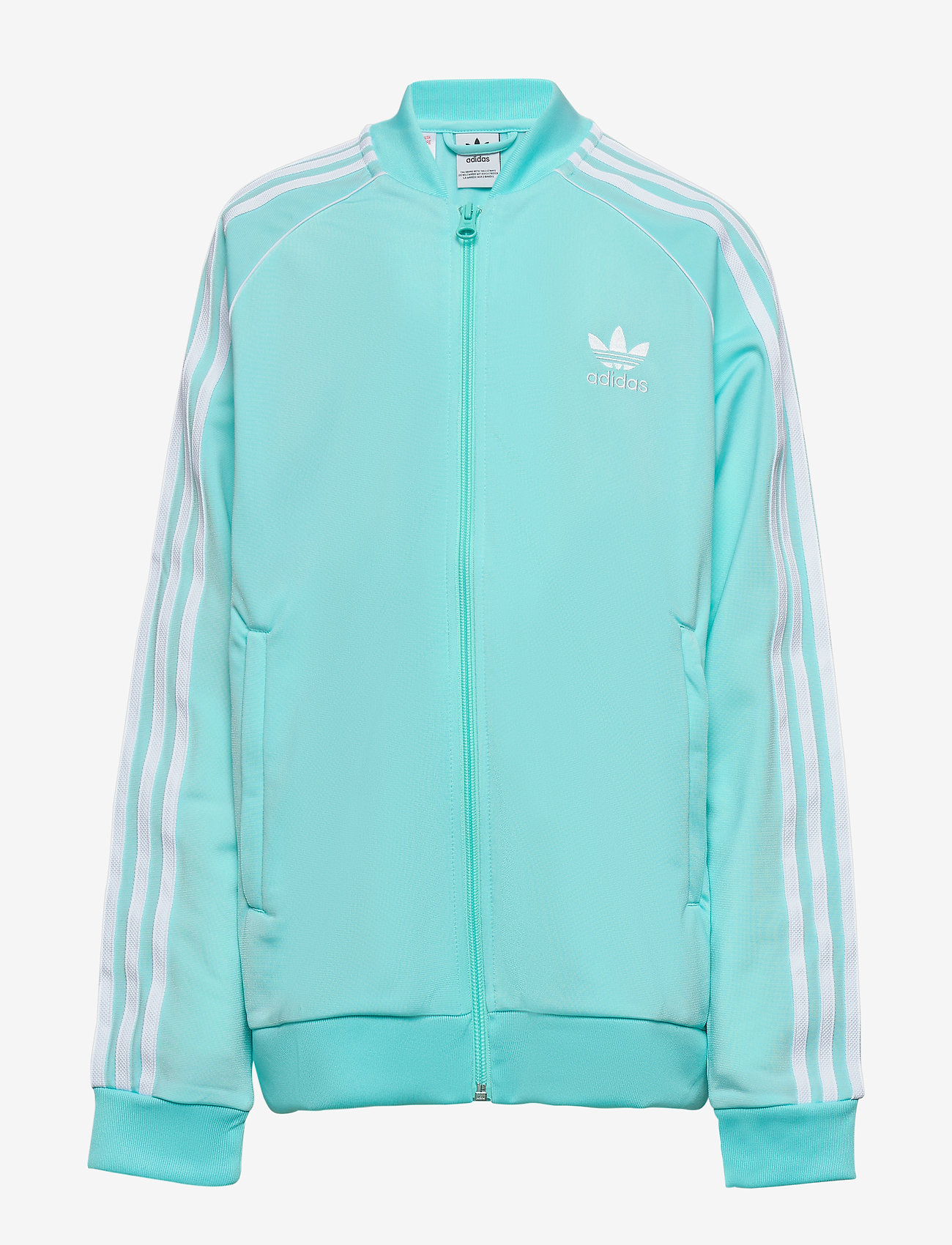 adidas Originals - SUPERSTAR TOP - sweatshirts - claqua/white - 0