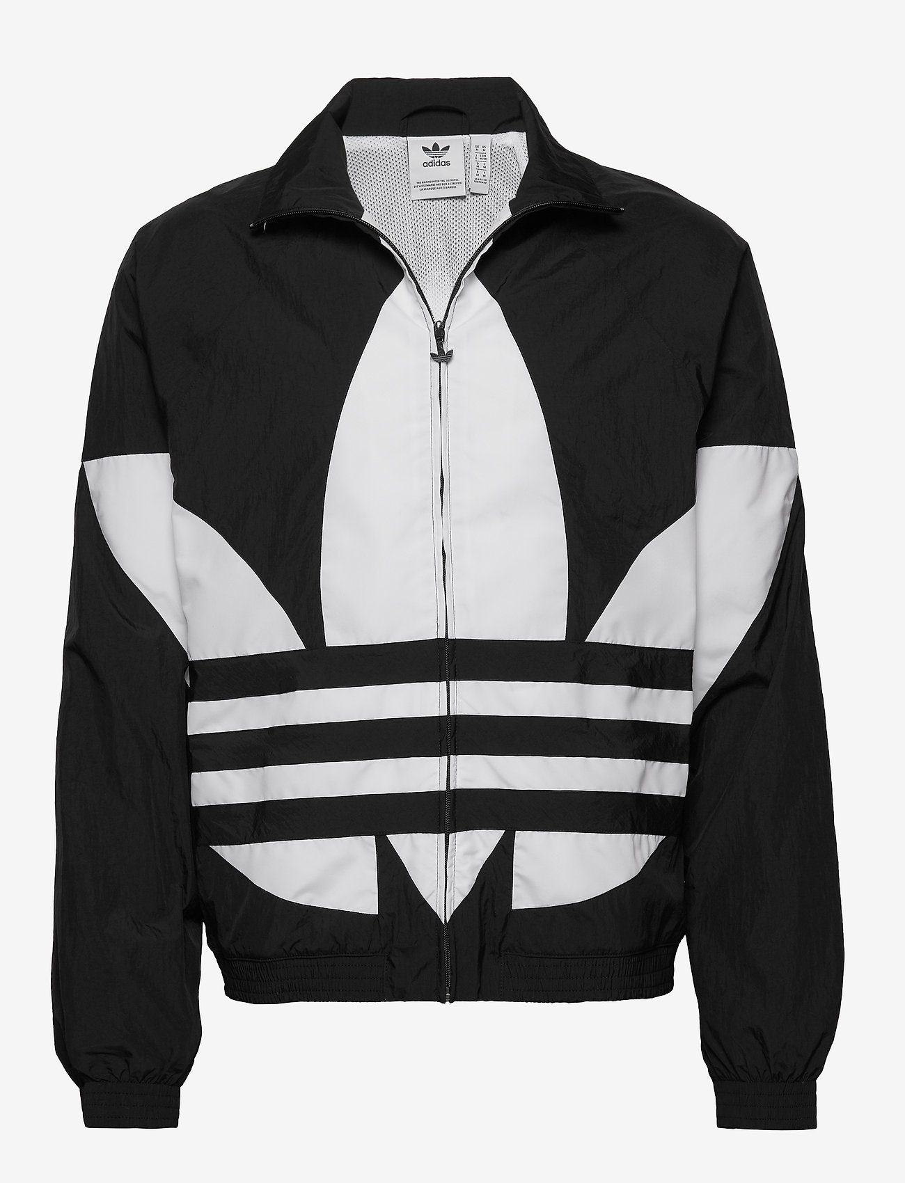 adidas Originals - BG TREFOIL TT - athleisure jackets - black - 1
