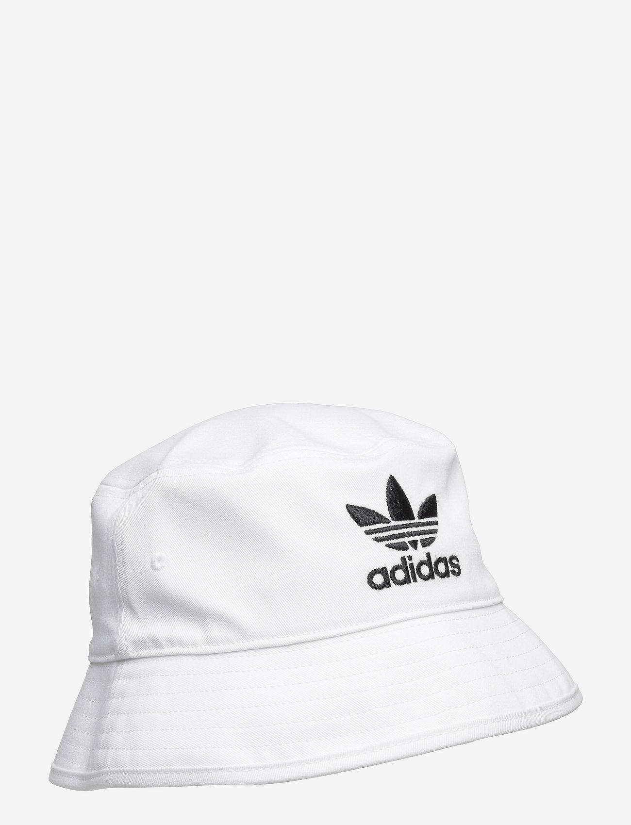 adidas Originals - Adicolor Trefoil Bucket Hat - bucket hats - white - 0