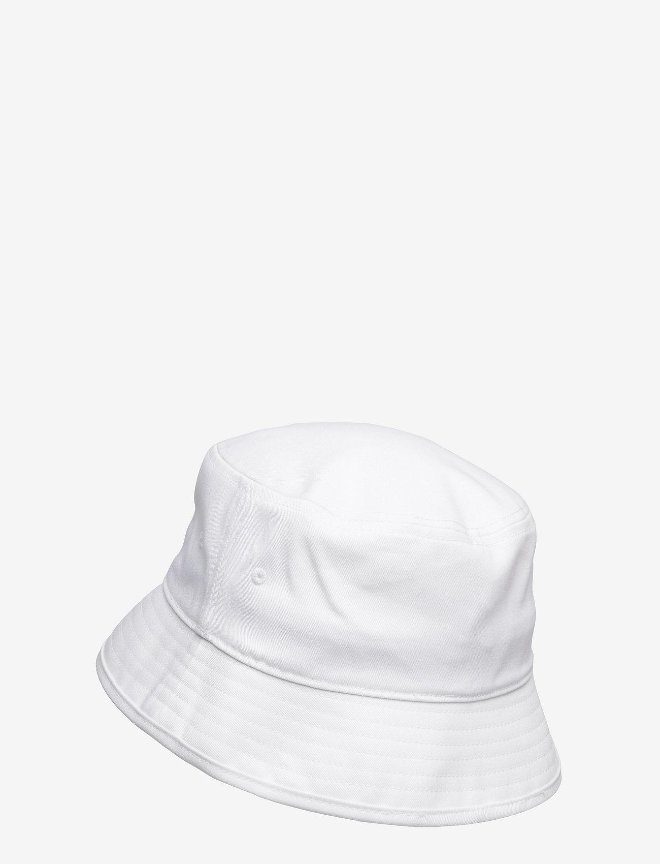 adidas Originals - Adicolor Trefoil Bucket Hat - bucket hats - white - 1