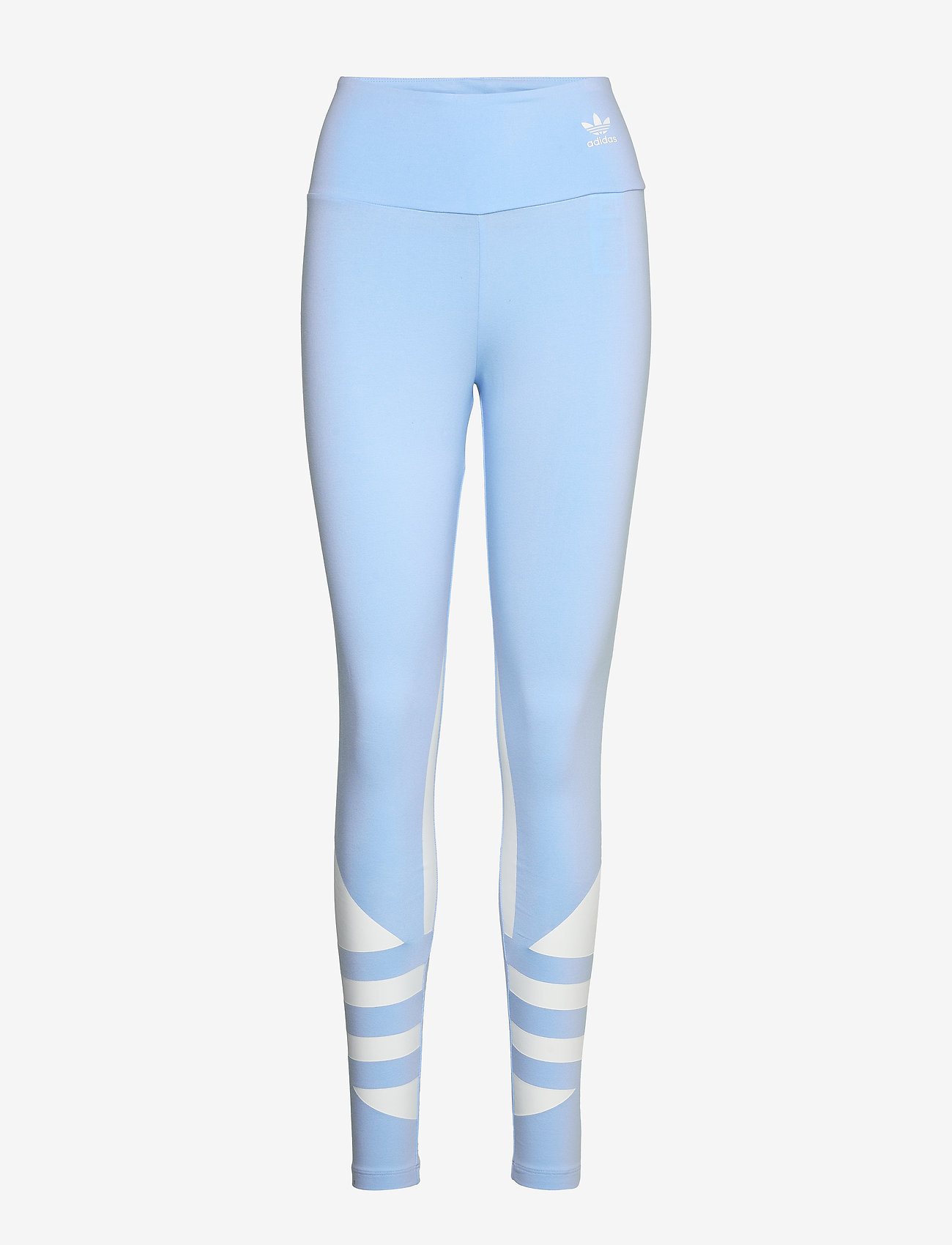 adidas Originals - LRG LOGO TIGHT - running & training tights - clesky/white - 1