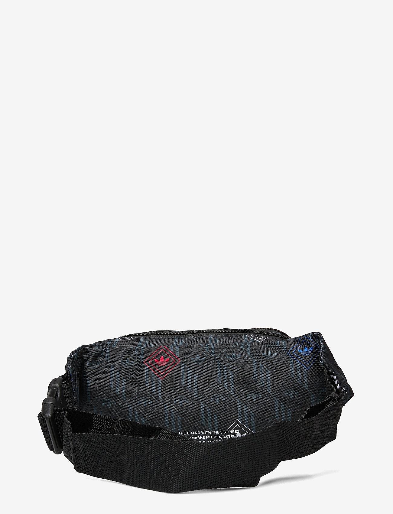 adidas Originals - MONOGR WAISTBAG - vyölaukut - black/multco - 1