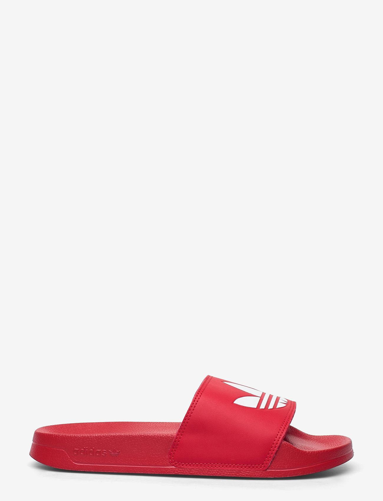 adidas Originals - Adilette Lite Slides - tennarit - scarle/ftwwht/scarle - 1