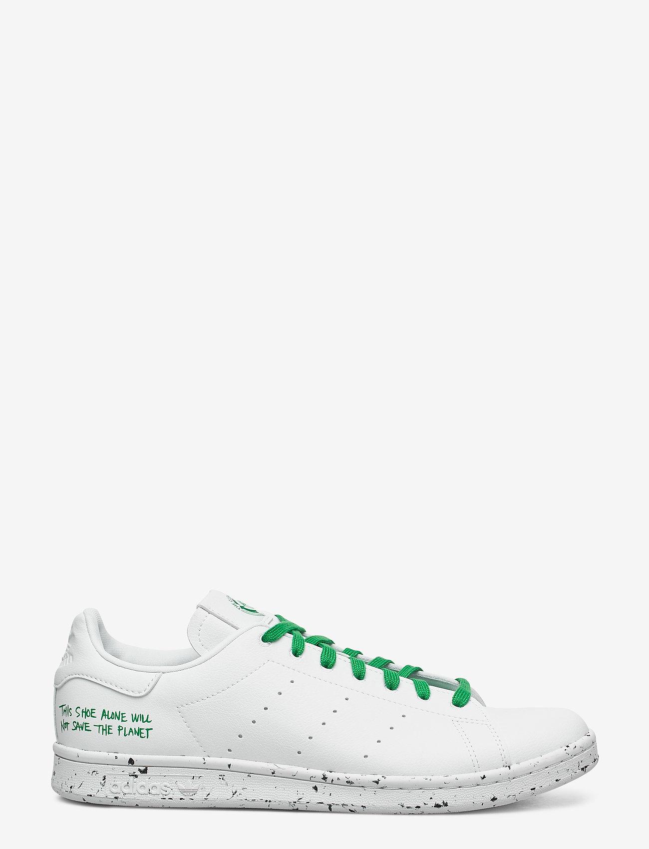 adidas Originals - STAN SMITH - lav ankel - ftwwht/ftwwht/green - 1