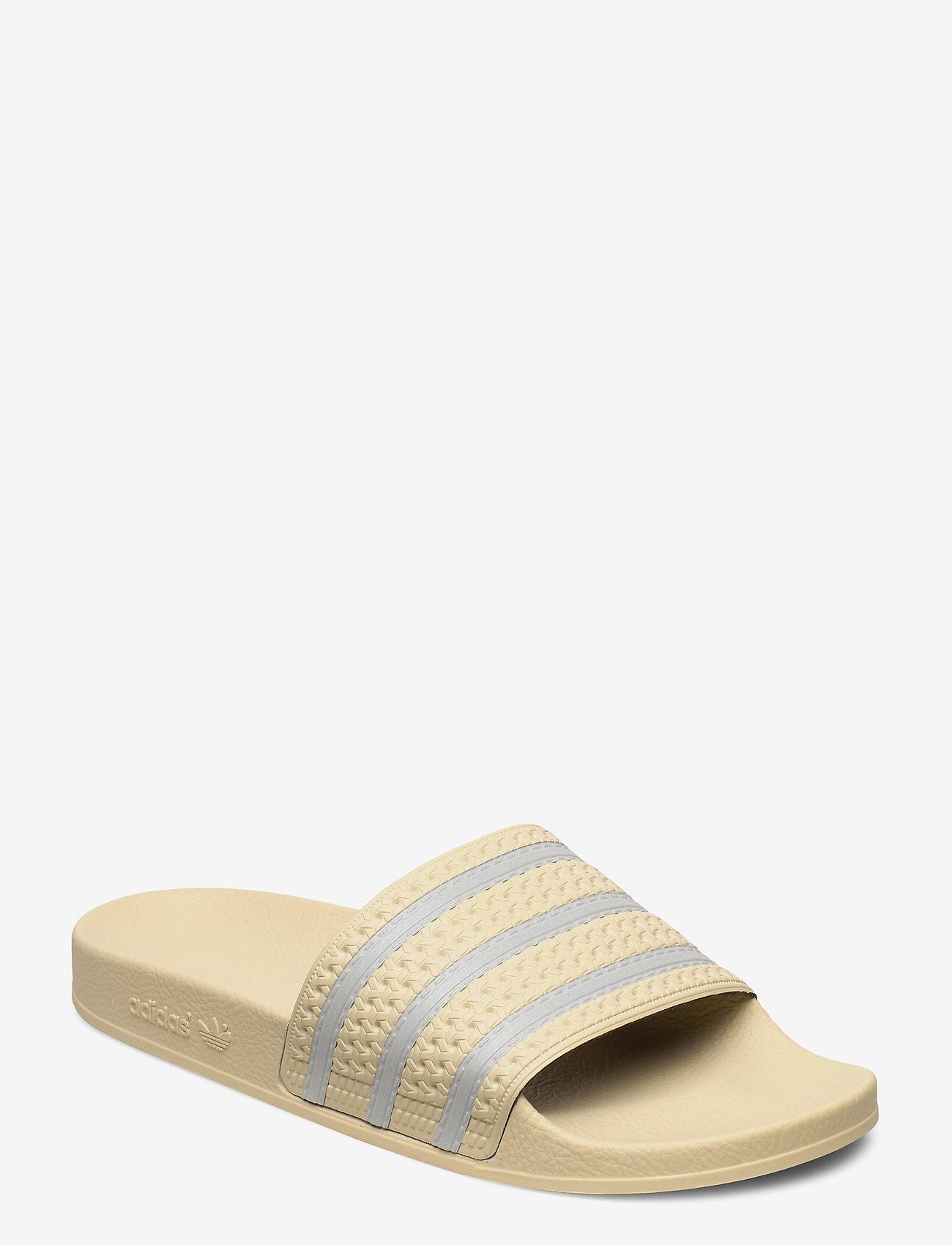 adidas Originals - ADILETTE - pool sliders - sand/supcol/sand - 0