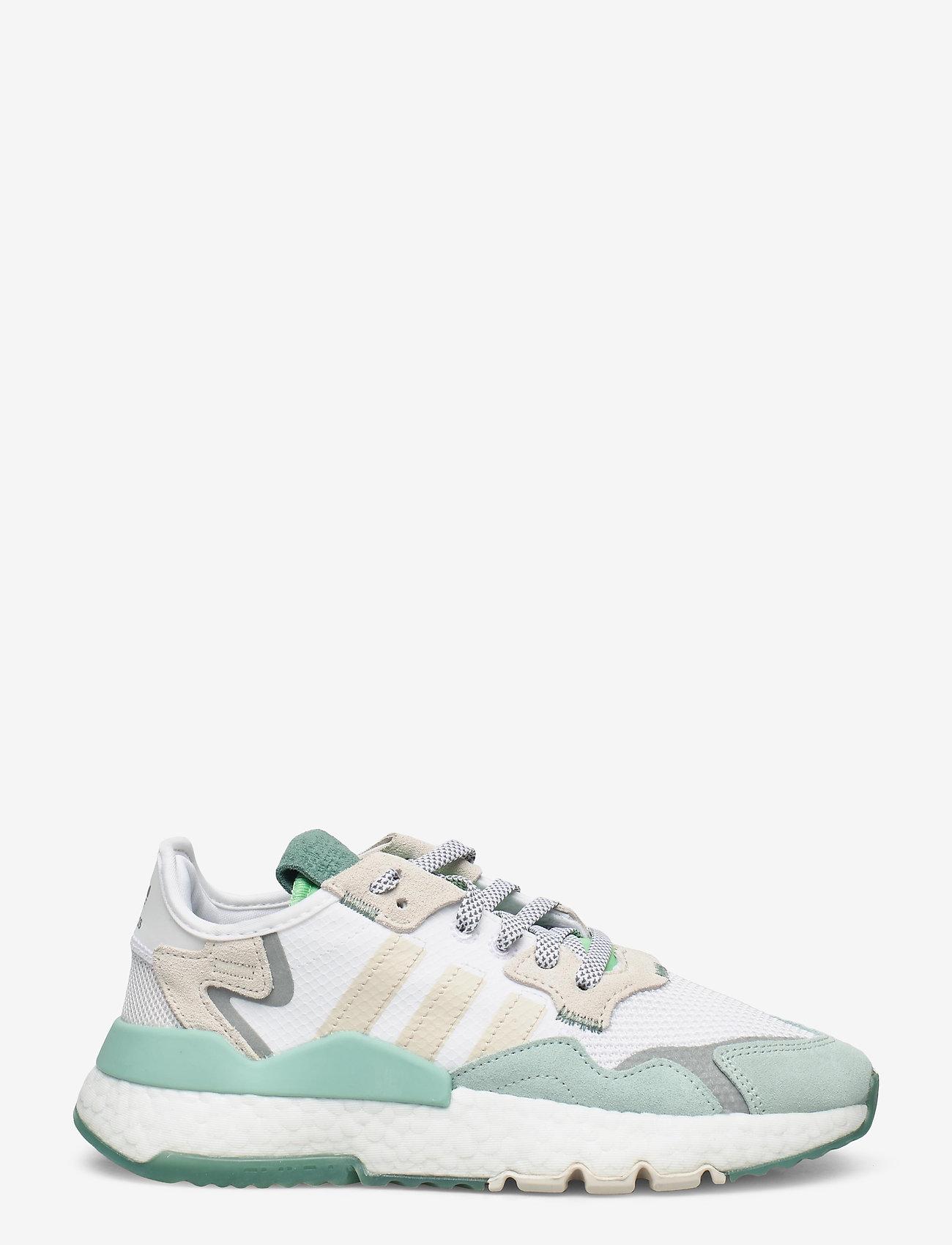 adidas Originals - NITE JOGGER W - chunky sneaker - ftwwht/alumin/alumin - 1