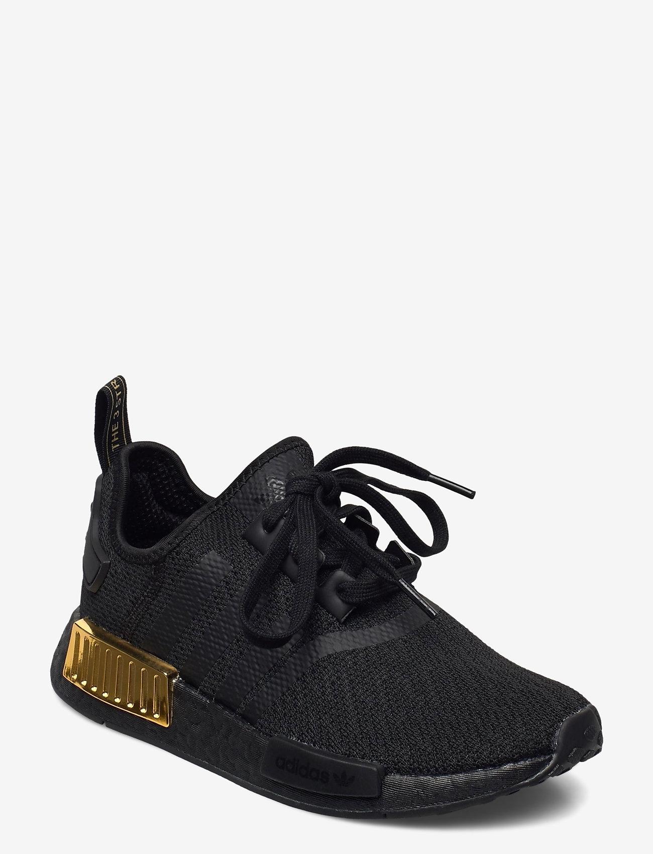 adidas Originals - NMD_R1 W - laag sneakers - cblack/cblack/goldmt - 0