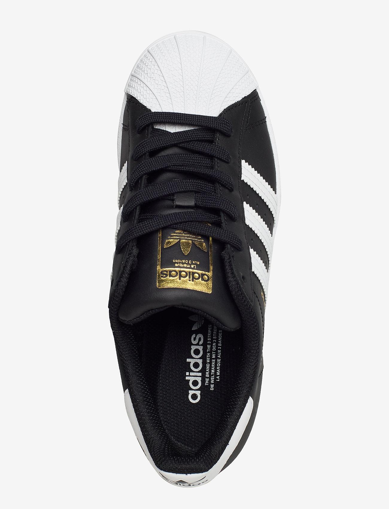 adidas Originals - Superstar  W - low top sneakers - cblack/ftwwht/cblack - 3