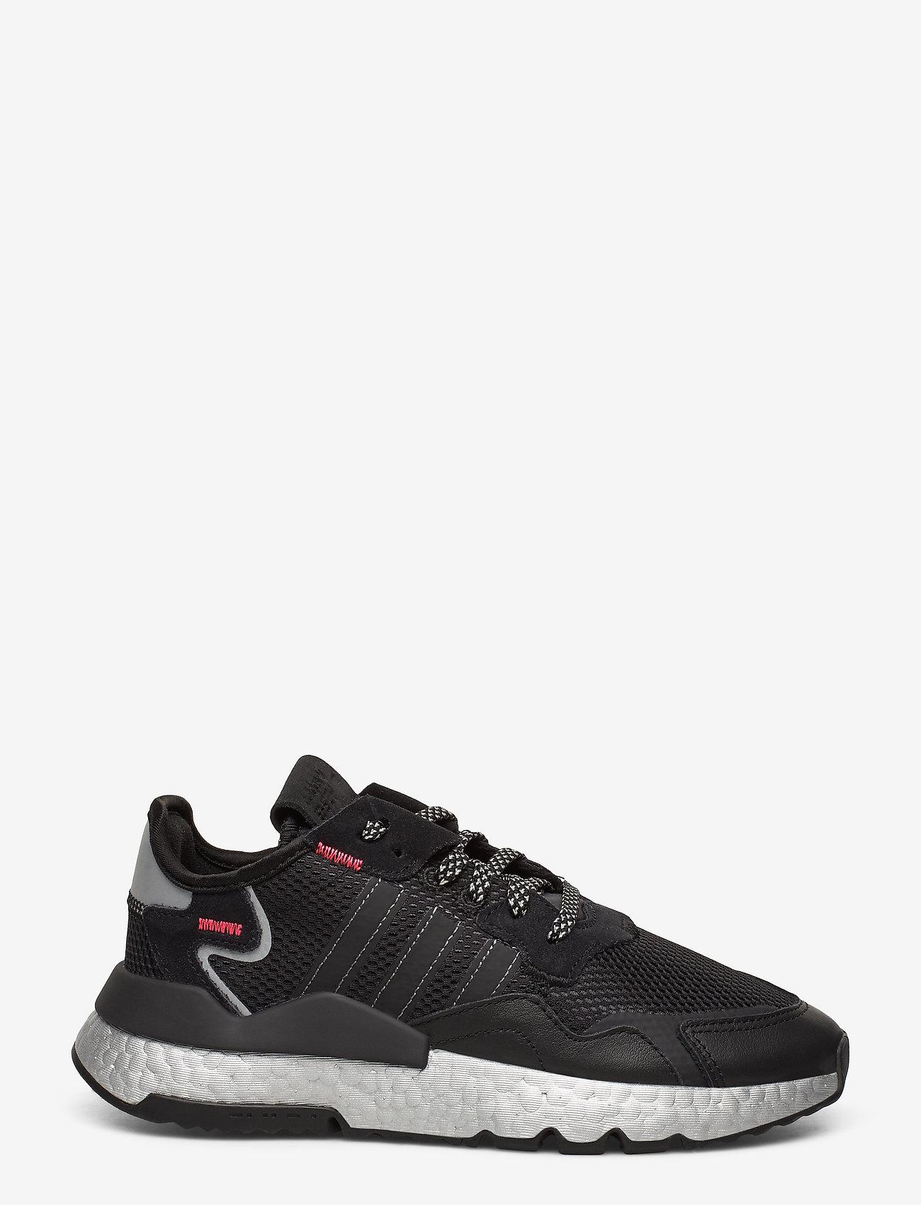 adidas Originals - NITE JOGGER W - chunky sneaker - cblack/shored/silvmt - 1