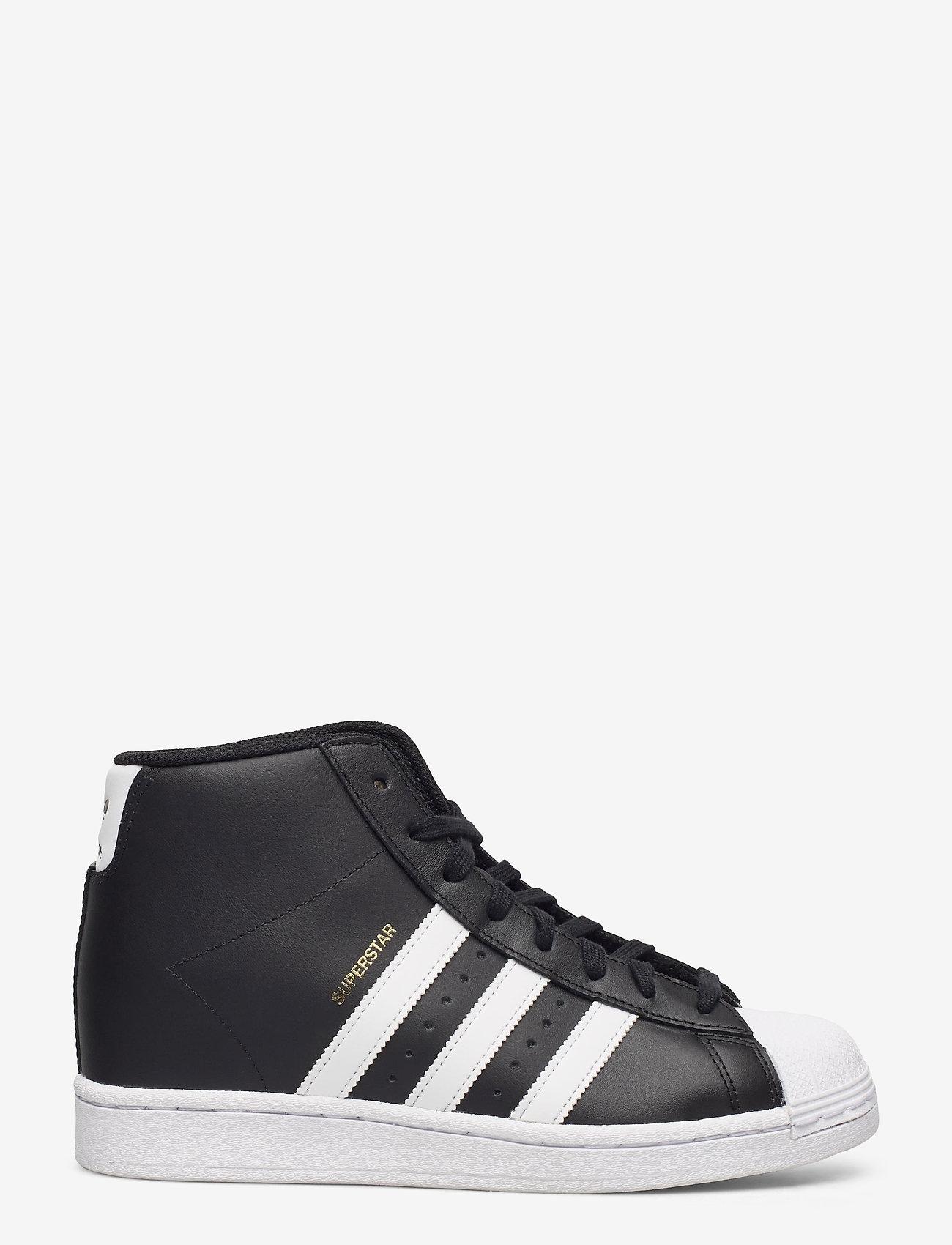 adidas Originals - Superstar Up W - hoge sneakers - cblack/ftwwht/goldmt - 1