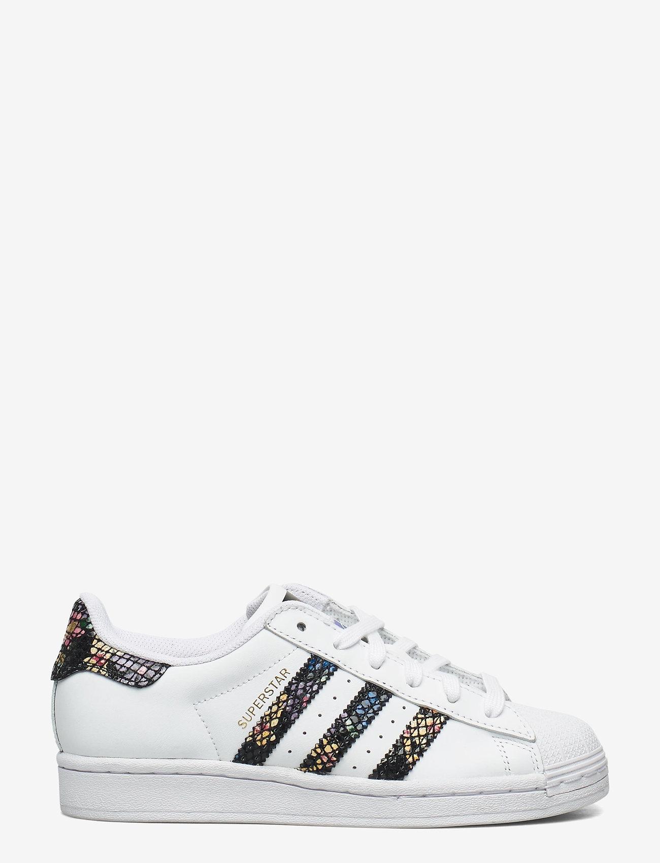 adidas Originals - SUPERSTAR W - låga sneakers - ftwwht/cblack/red - 1