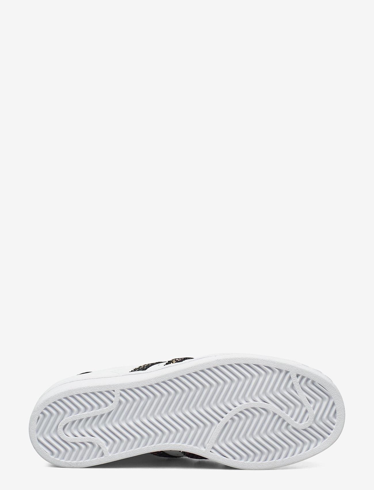 adidas Originals - SUPERSTAR W - låga sneakers - ftwwht/cblack/red - 4