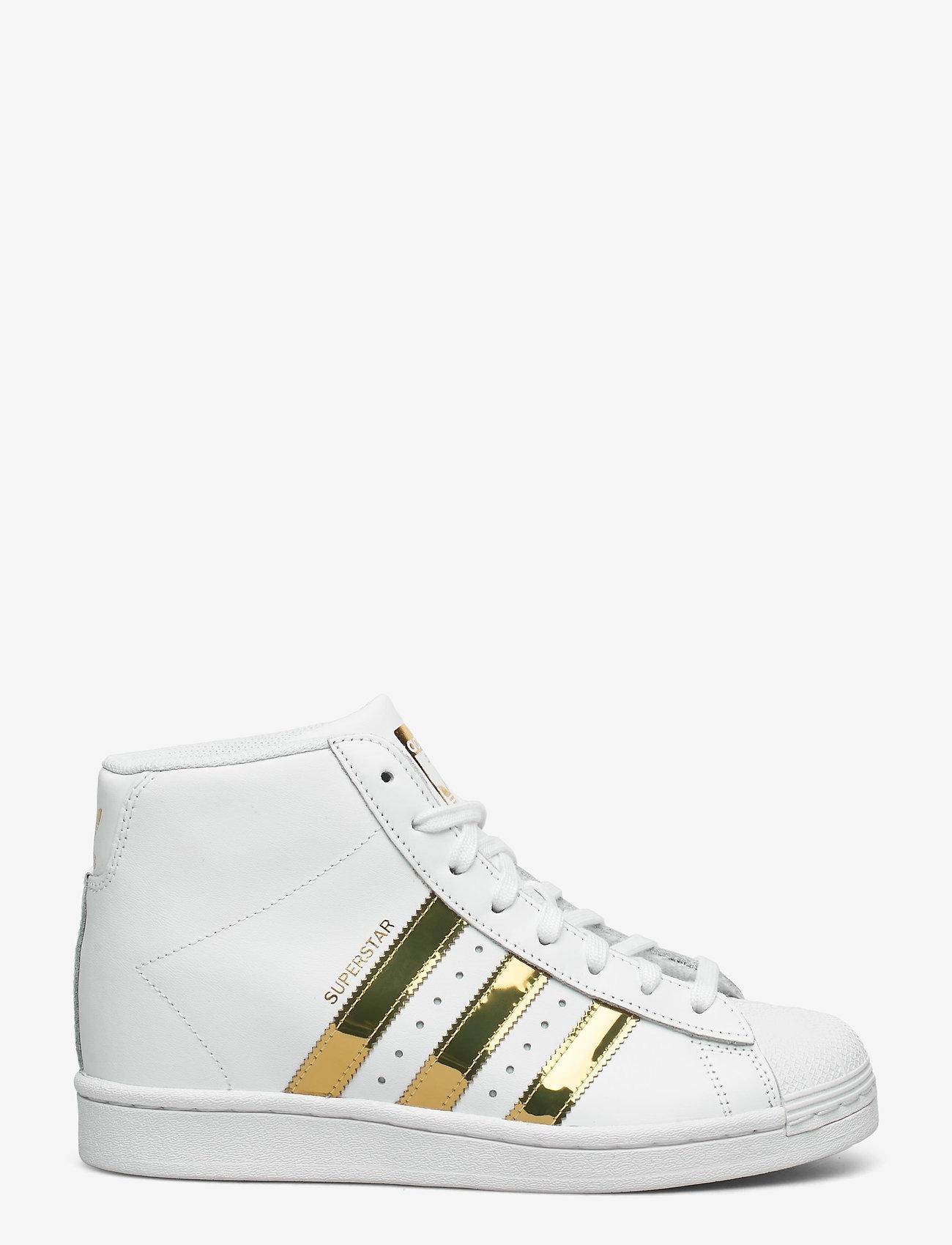 adidas Originals - SUPERSTAR UP W - hoge sneakers - ftwwht/goldmt/cblack - 1