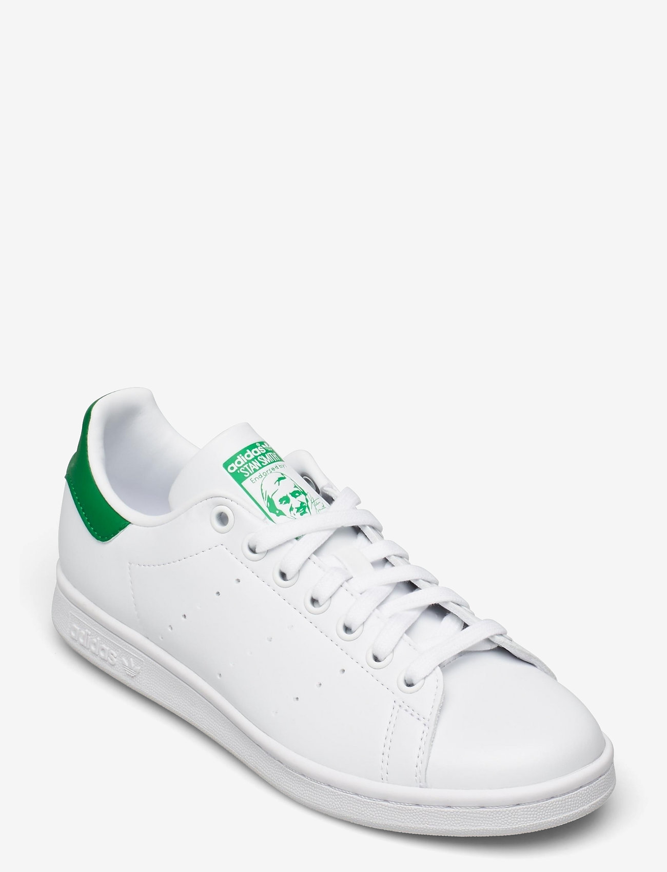 adidas Originals - Stan Smith - låga sneakers - ftwwht/ftwwht/green - 1