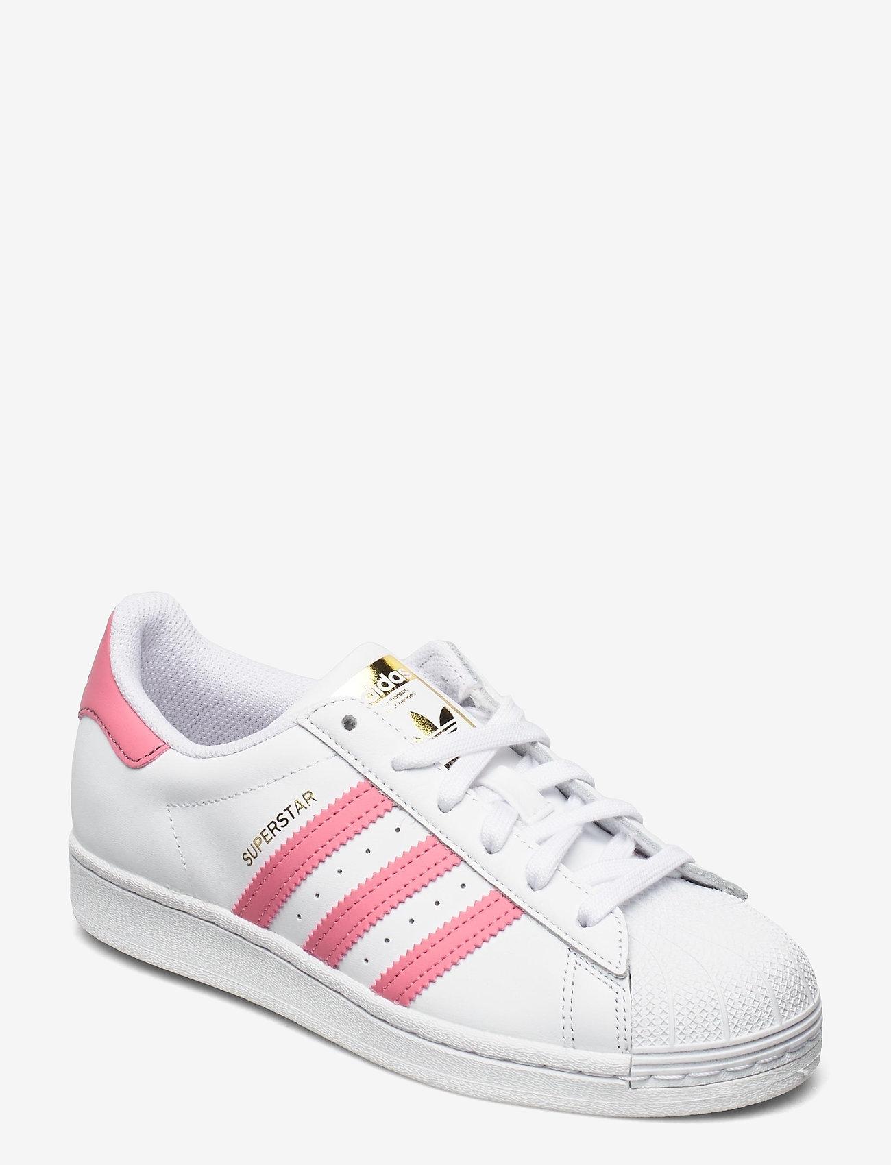 adidas Originals - Superstar W - low top sneakers - ftwwht/bluoxi/goldmt - 1
