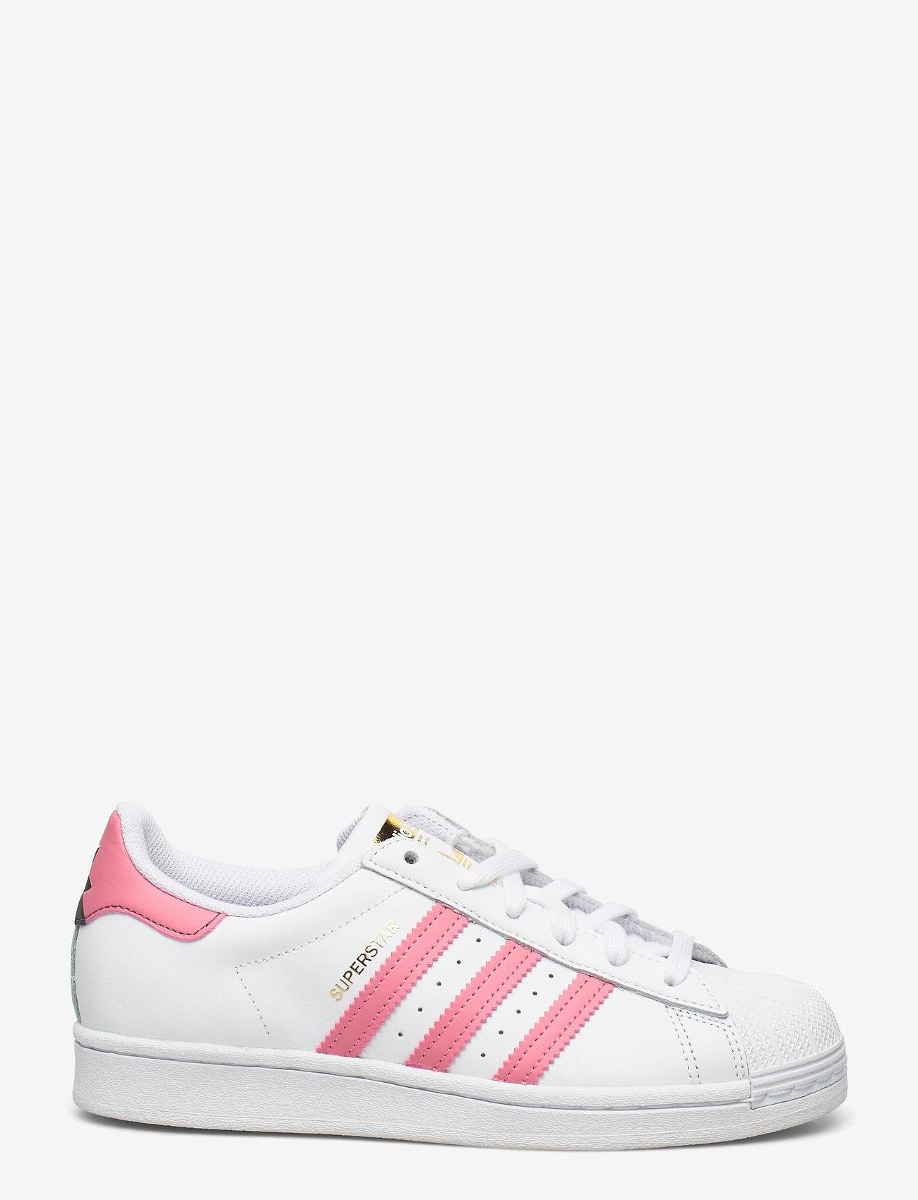 adidas Originals - Superstar W - low top sneakers - ftwwht/bluoxi/goldmt - 0