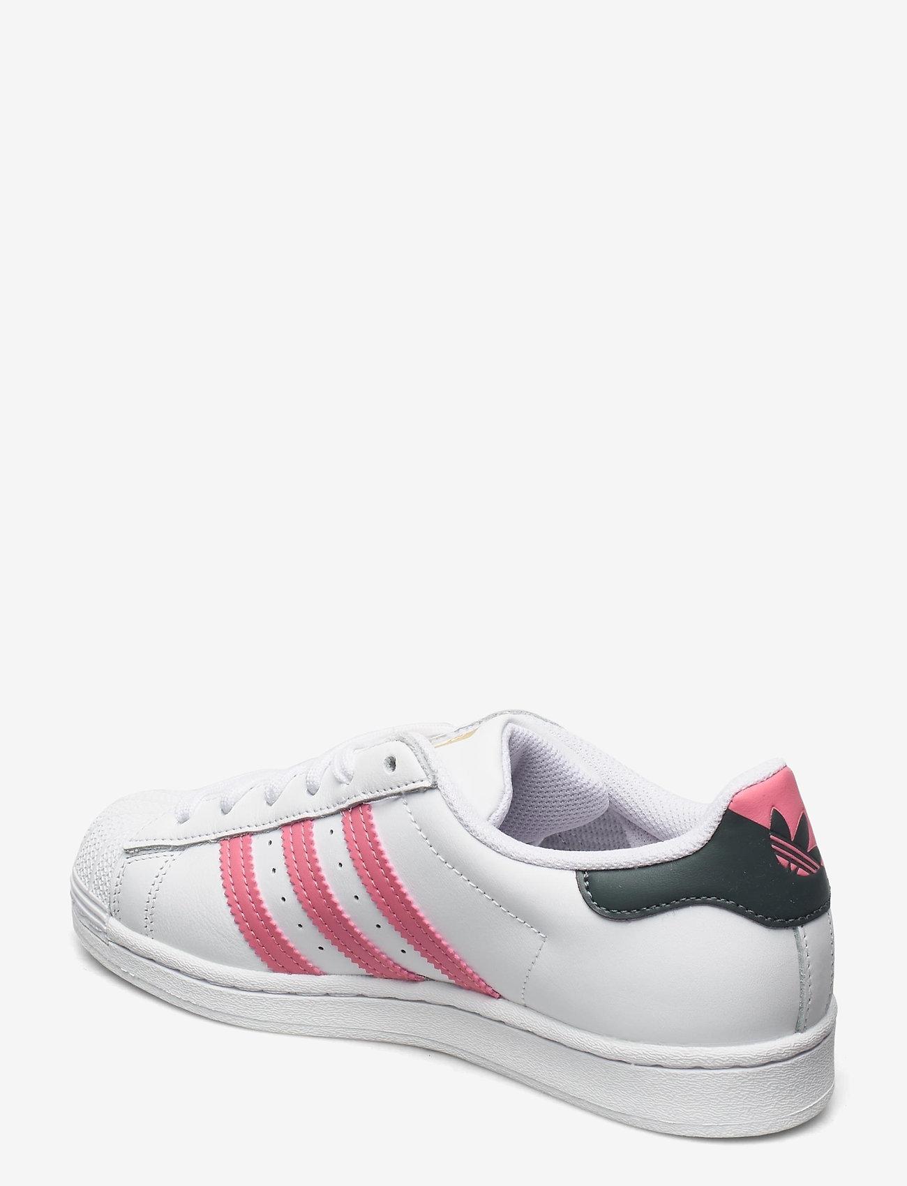 adidas Originals - Superstar W - low top sneakers - ftwwht/bluoxi/goldmt - 2